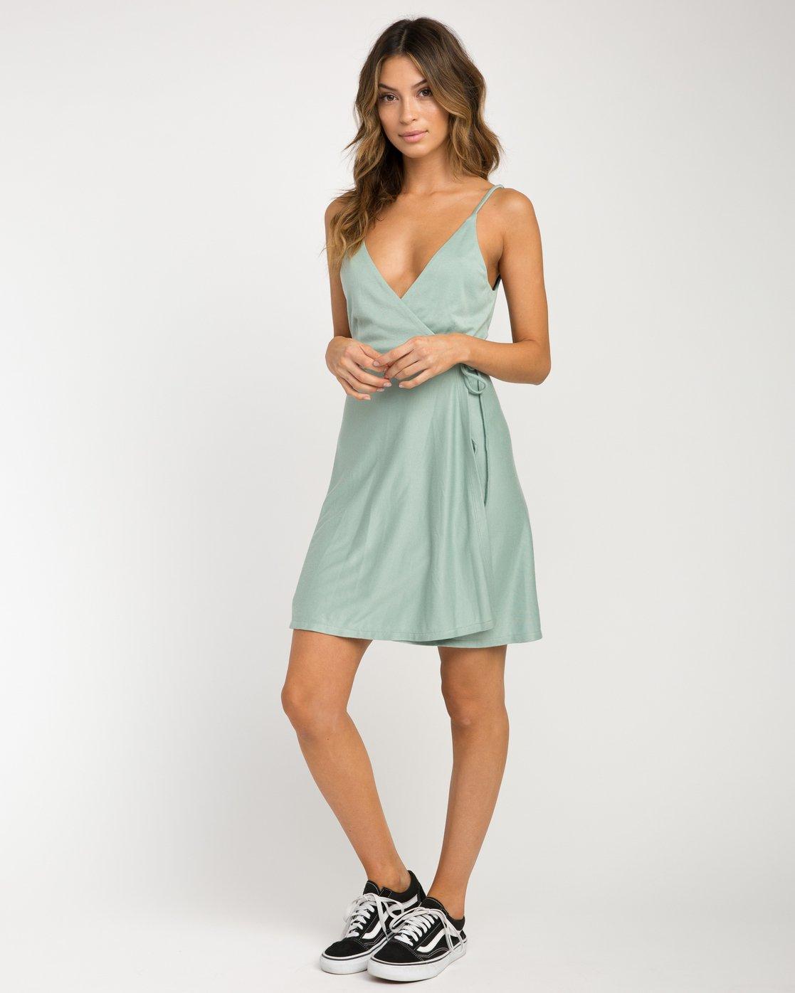 3 Kelso Wrap Dress  WD16NRKE RVCA