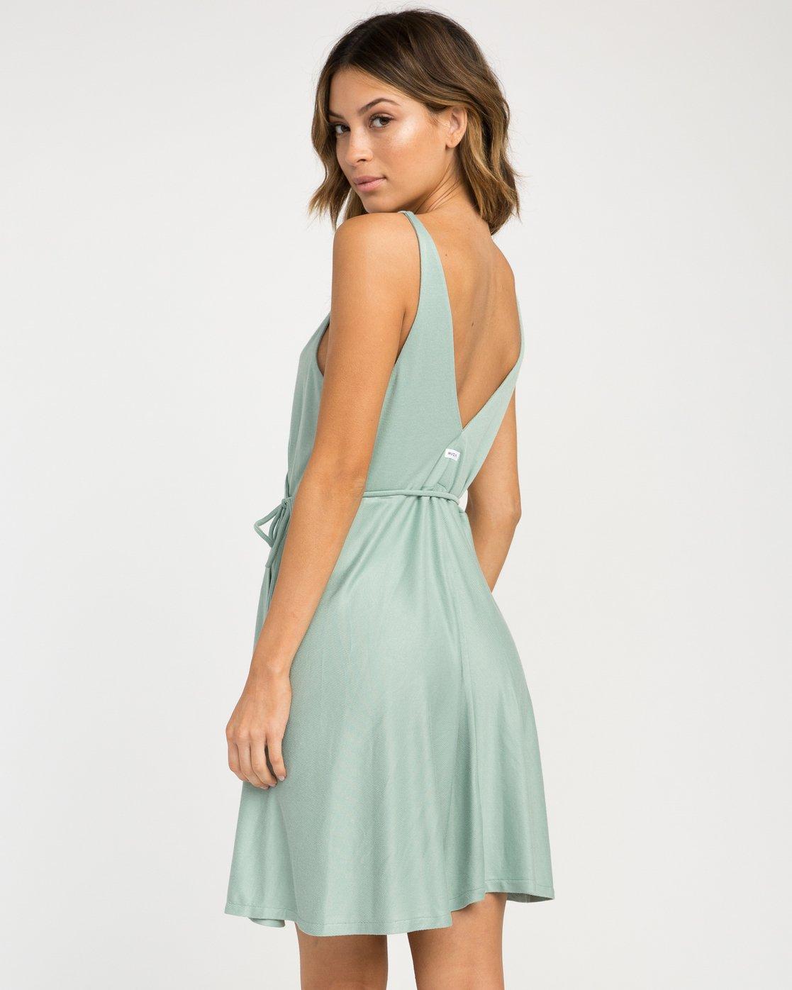 2 Kelso Wrap Dress  WD16NRKE RVCA