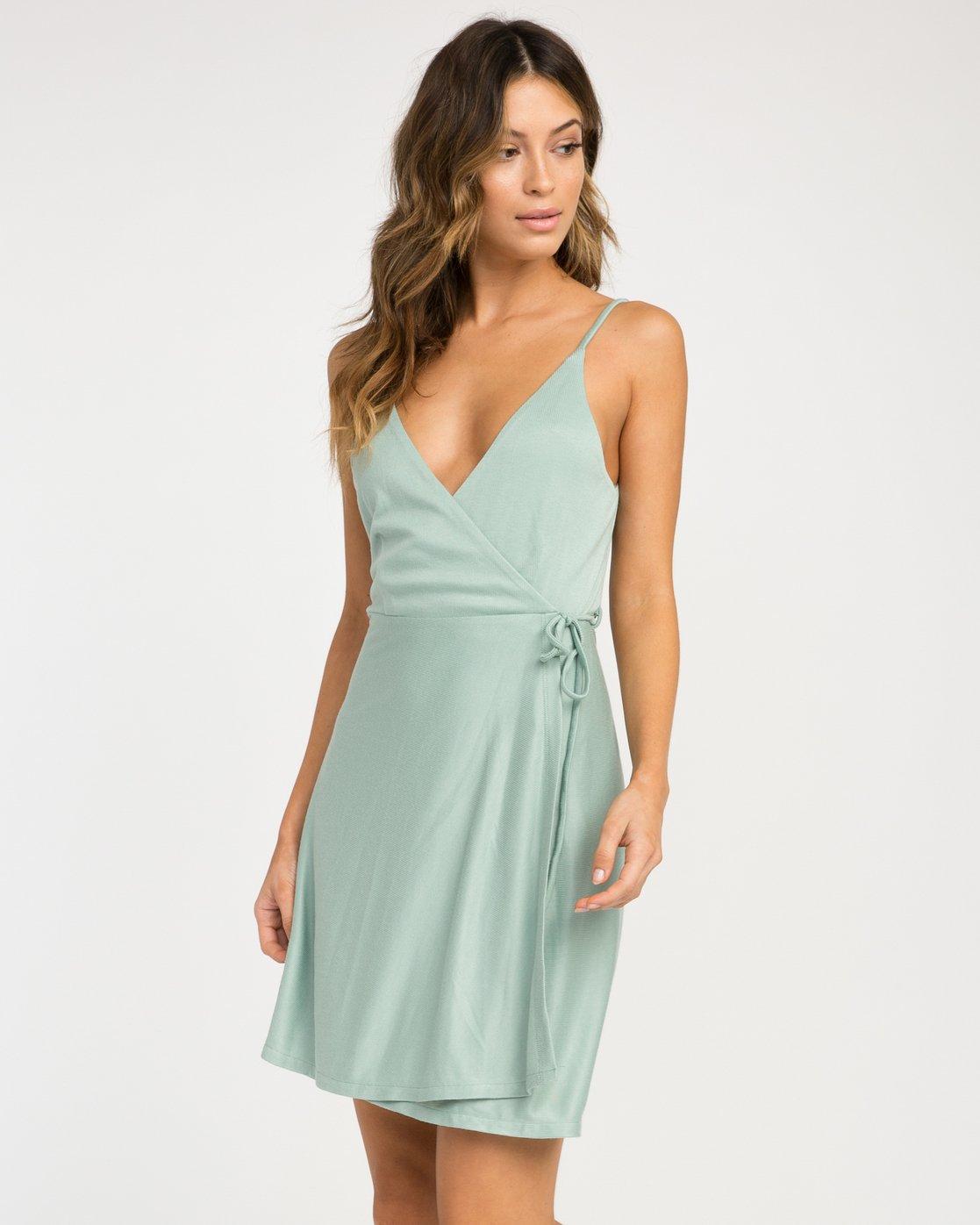 1 Kelso Wrap Dress  WD16NRKE RVCA