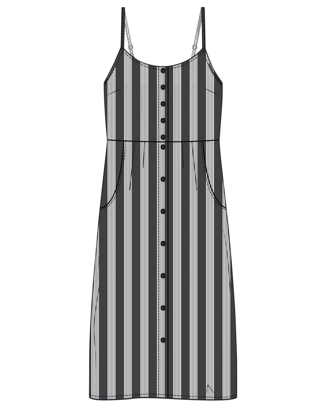 0 TALUNA DRESS  WD183RTA RVCA