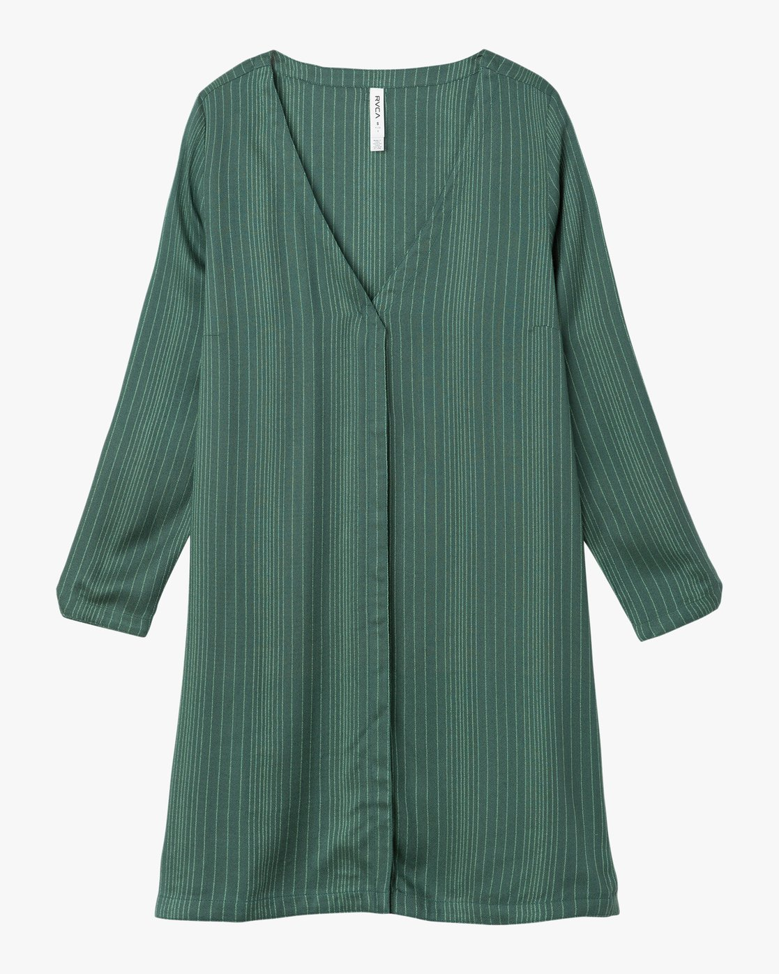 4 Foxy Lady Striped Shirt Dress  WD20NRFO RVCA