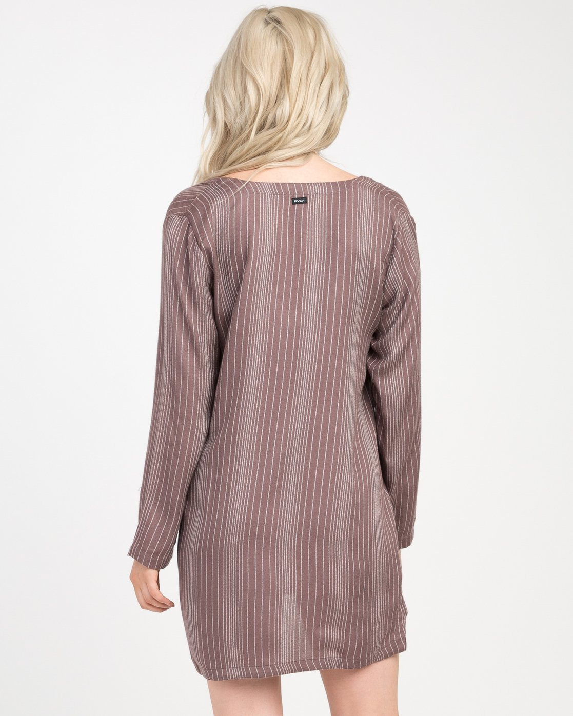 2 Foxy Lady Striped Shirt Dress  WD20NRFO RVCA