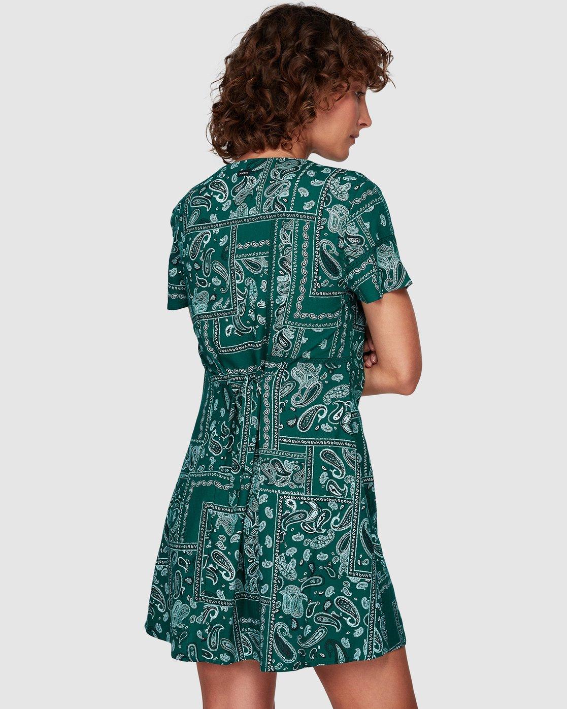 2 Farren Dress Green WD83WRFA RVCA