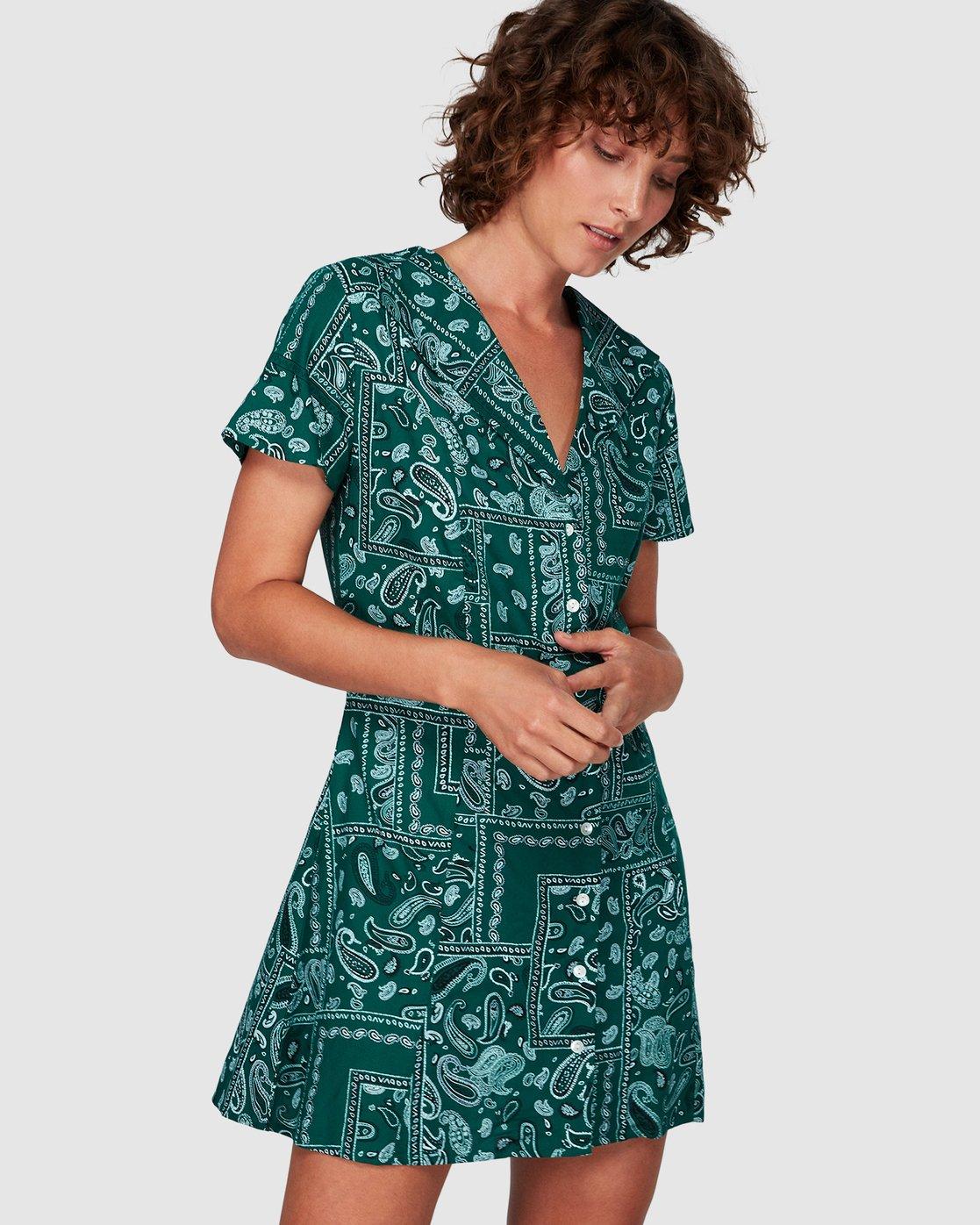 1 Farren Dress  WD83WRFA RVCA