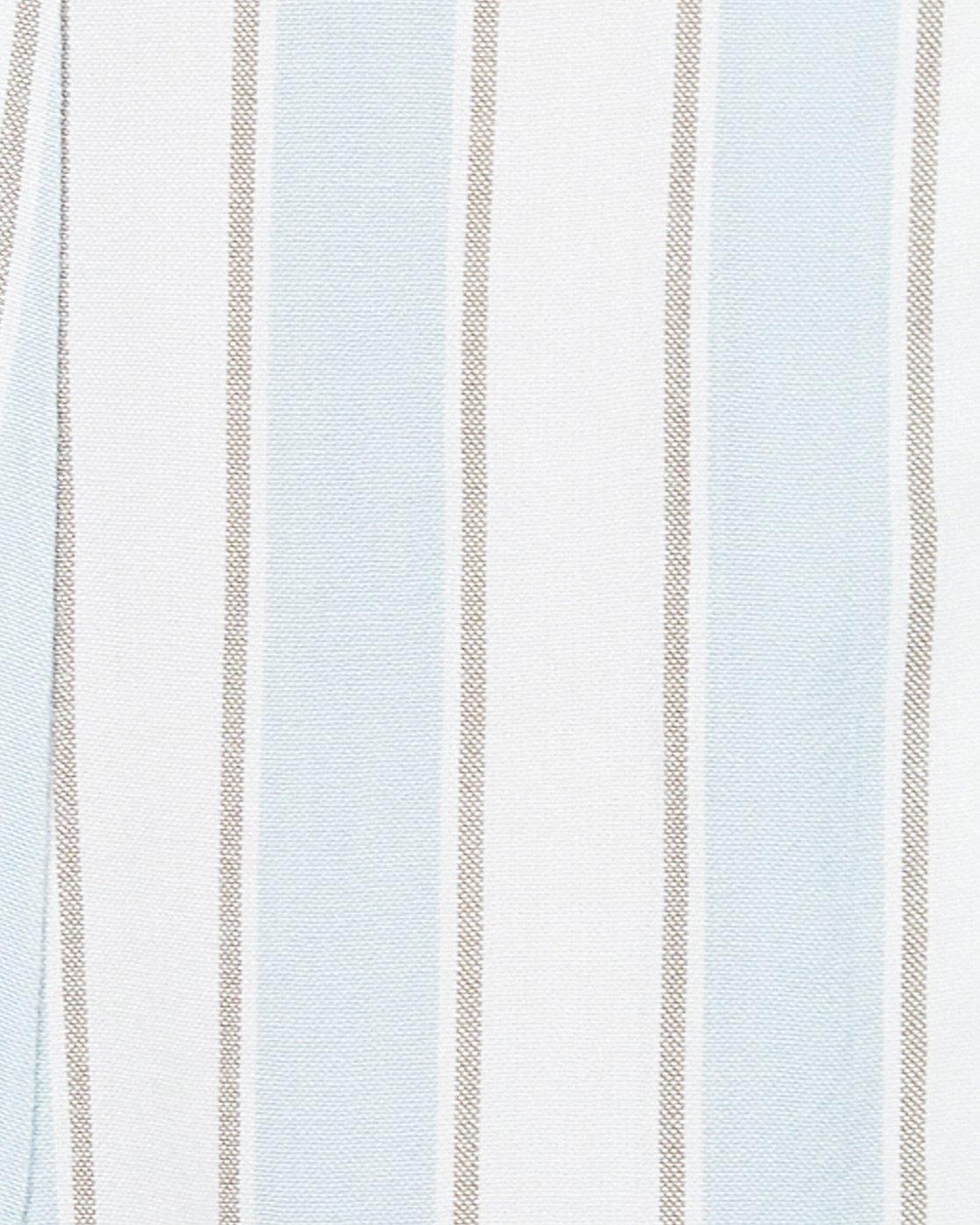 4 Caravan Stripe Dress White WD86WRCS RVCA