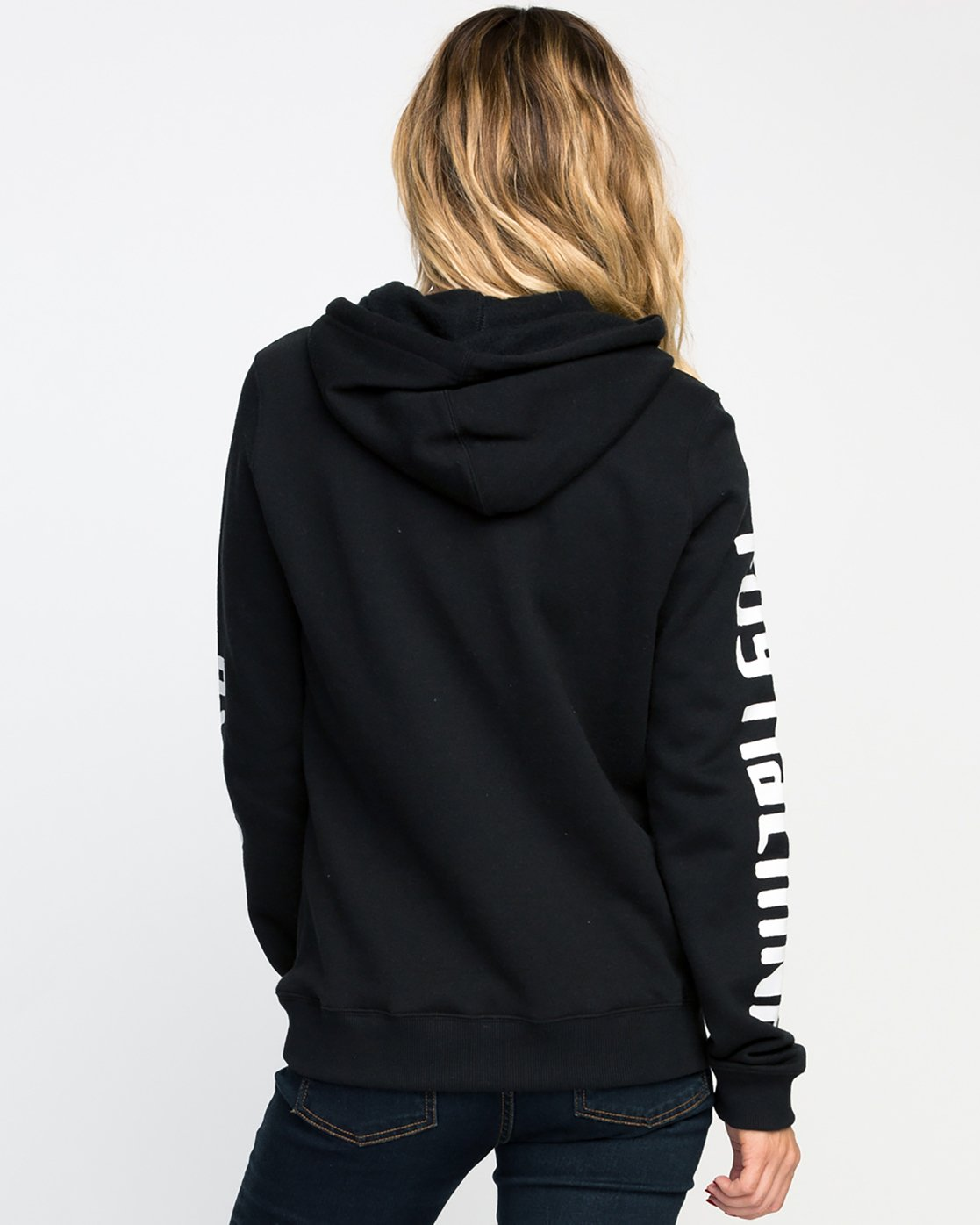 2 Toy Machine Hoodie Black WF12M01T RVCA