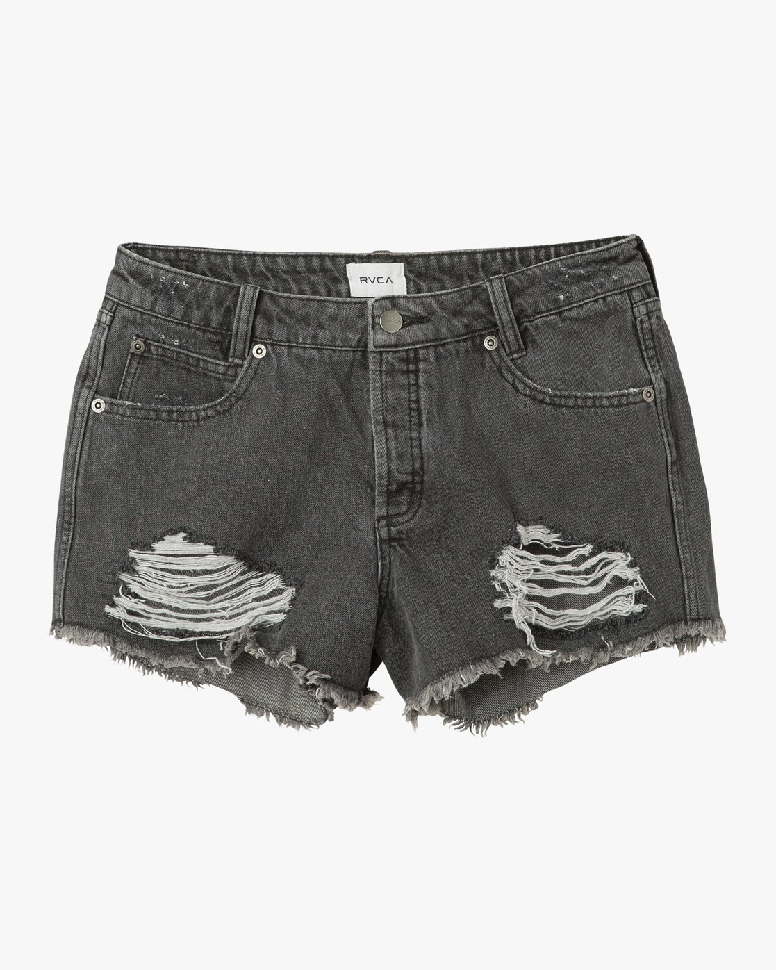 6 The BF Denim Shorts Blue WG201THE RVCA