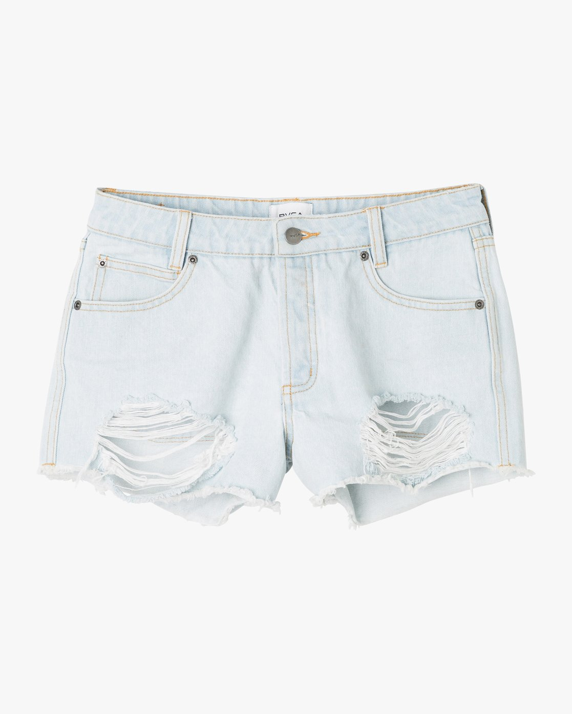 5 The BF Denim Shorts Black WG201THE RVCA