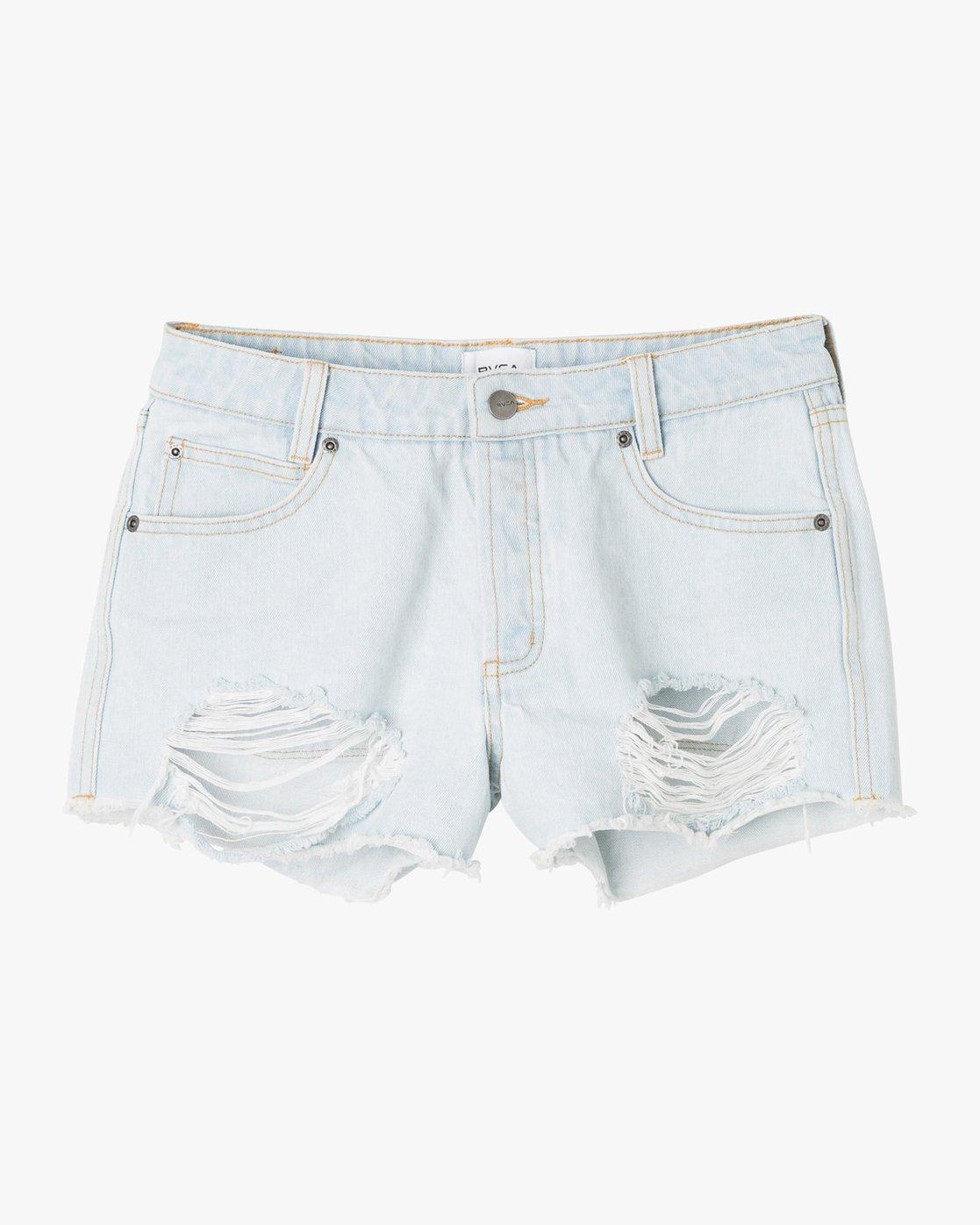5 The BF Denim Shorts Black WG201THE RVCA