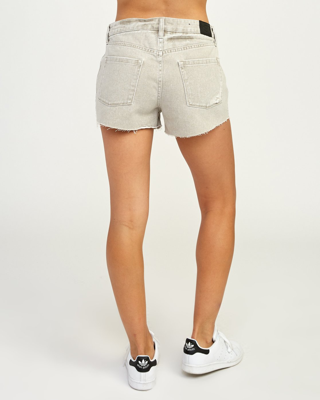 4 The BF Denim Shorts Beige WG201THE RVCA