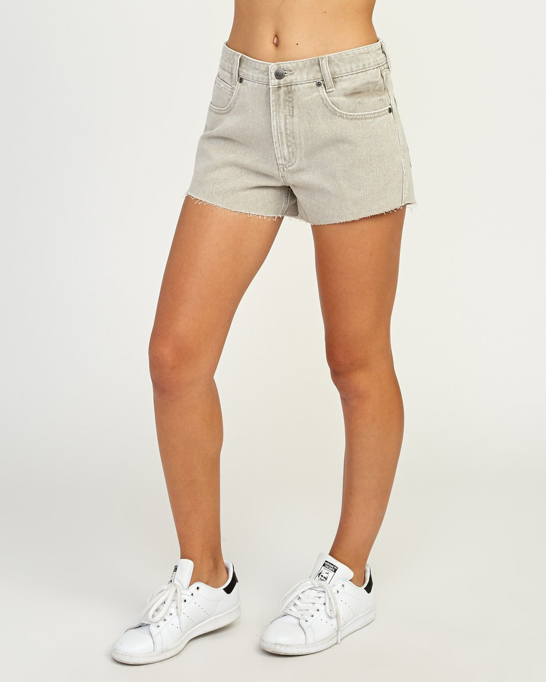 2 The BF Denim Shorts Beige WG201THE RVCA