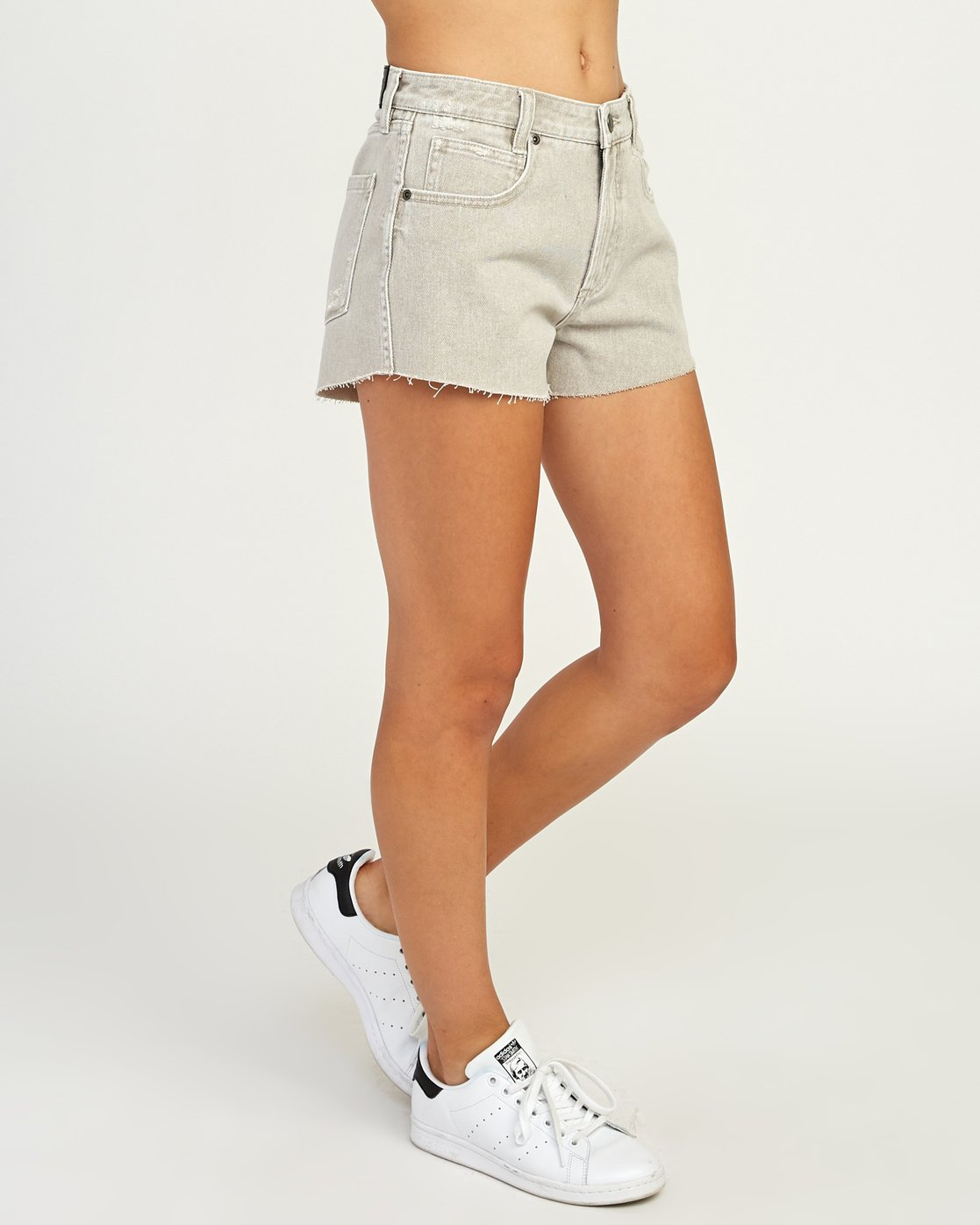 6 The BF Denim Shorts Beige WG201THE RVCA
