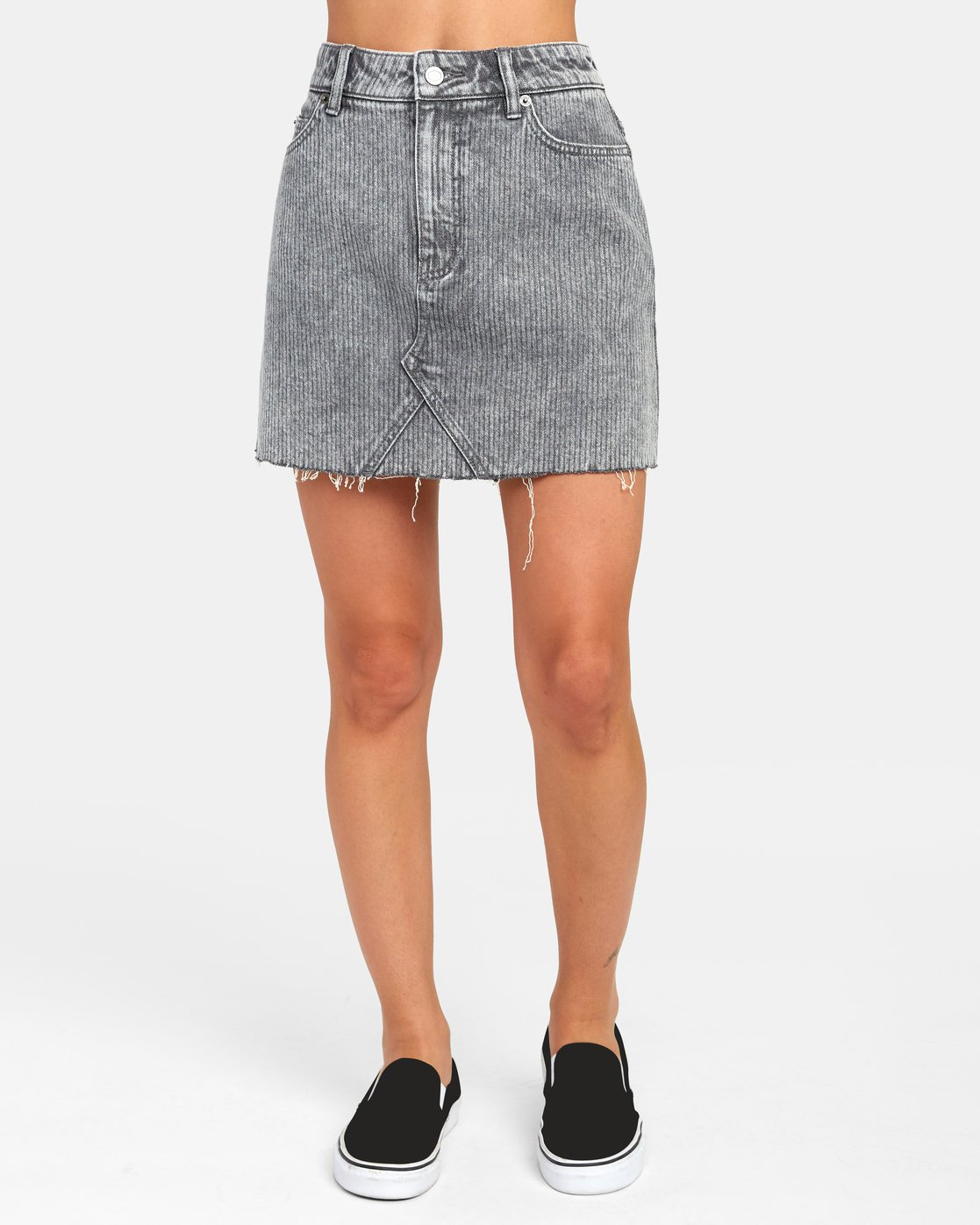 0 SIENA HIGH RISE DENIM SKIRT Multicolor WK02VRSI RVCA