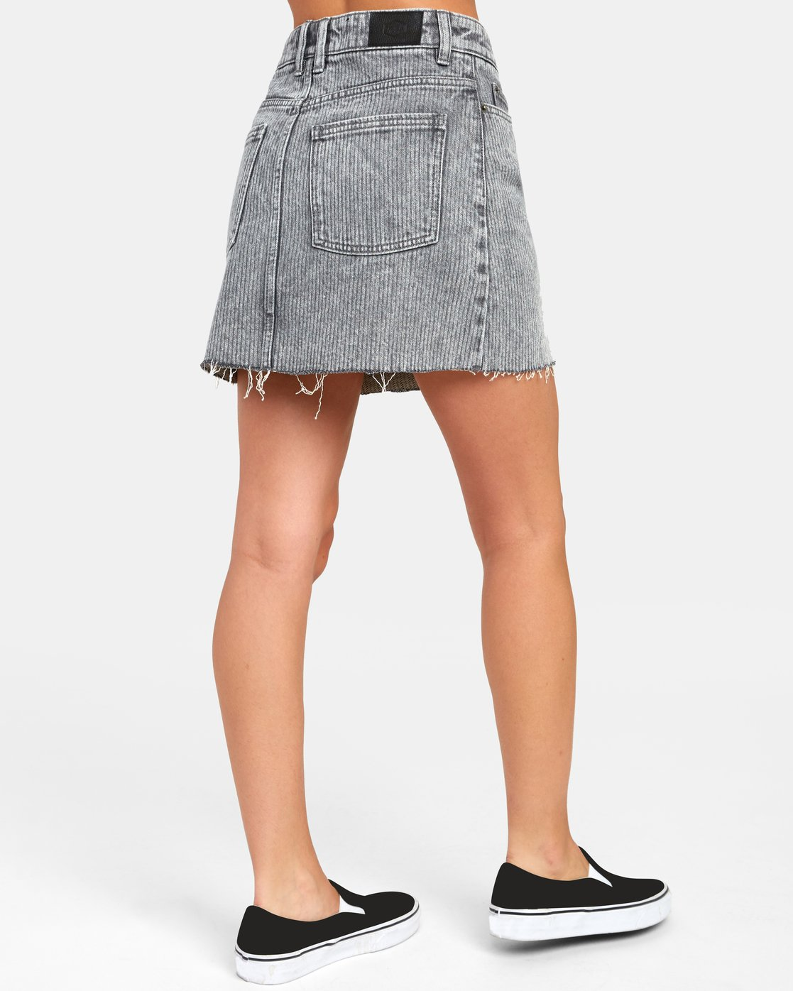 2 SIENA HIGH RISE DENIM SKIRT Multicolor WK02VRSI RVCA