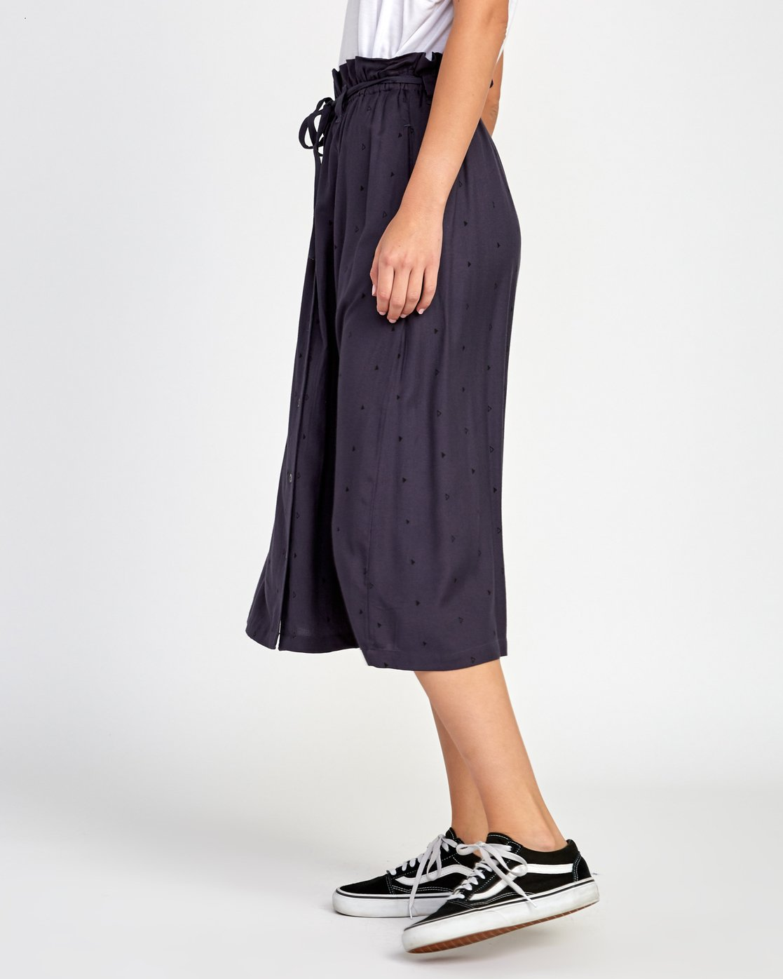 2 Sounded Midi Skirt Blue WK02VRSO RVCA