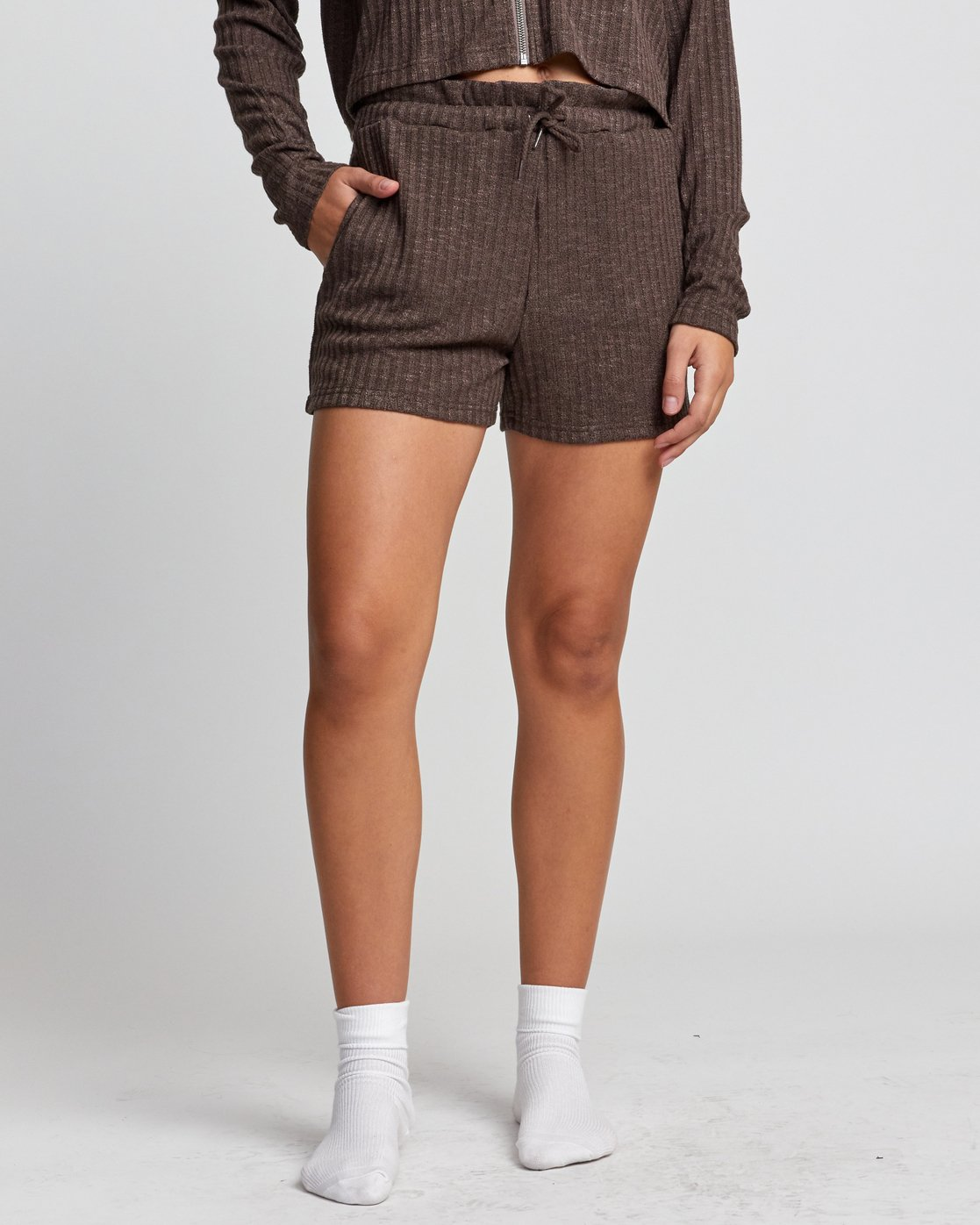 0 ONE NIGHT SHORT Grey WL023RON RVCA