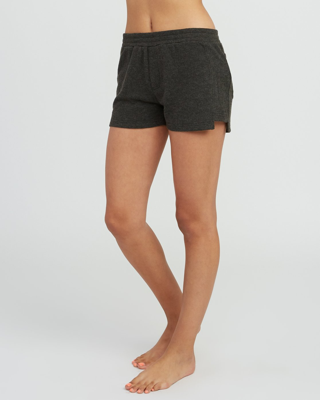 1 Chill Down Fleece Short Grey WL03SRCH RVCA