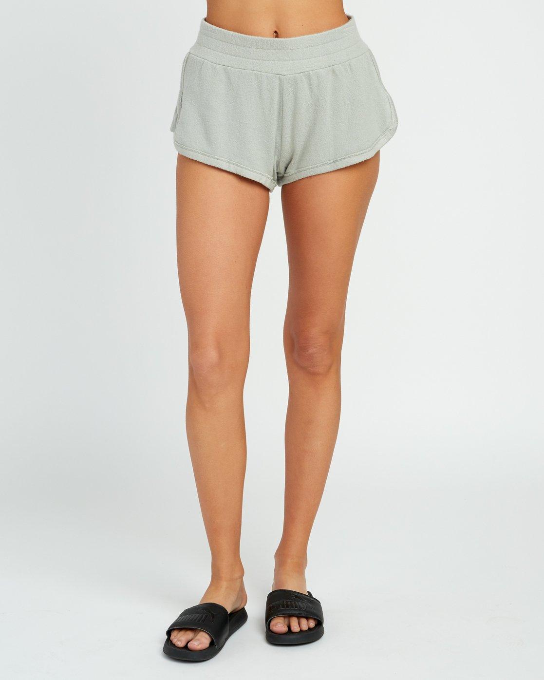 1 Daydream Knit Elastic Short Green WL07URDS RVCA