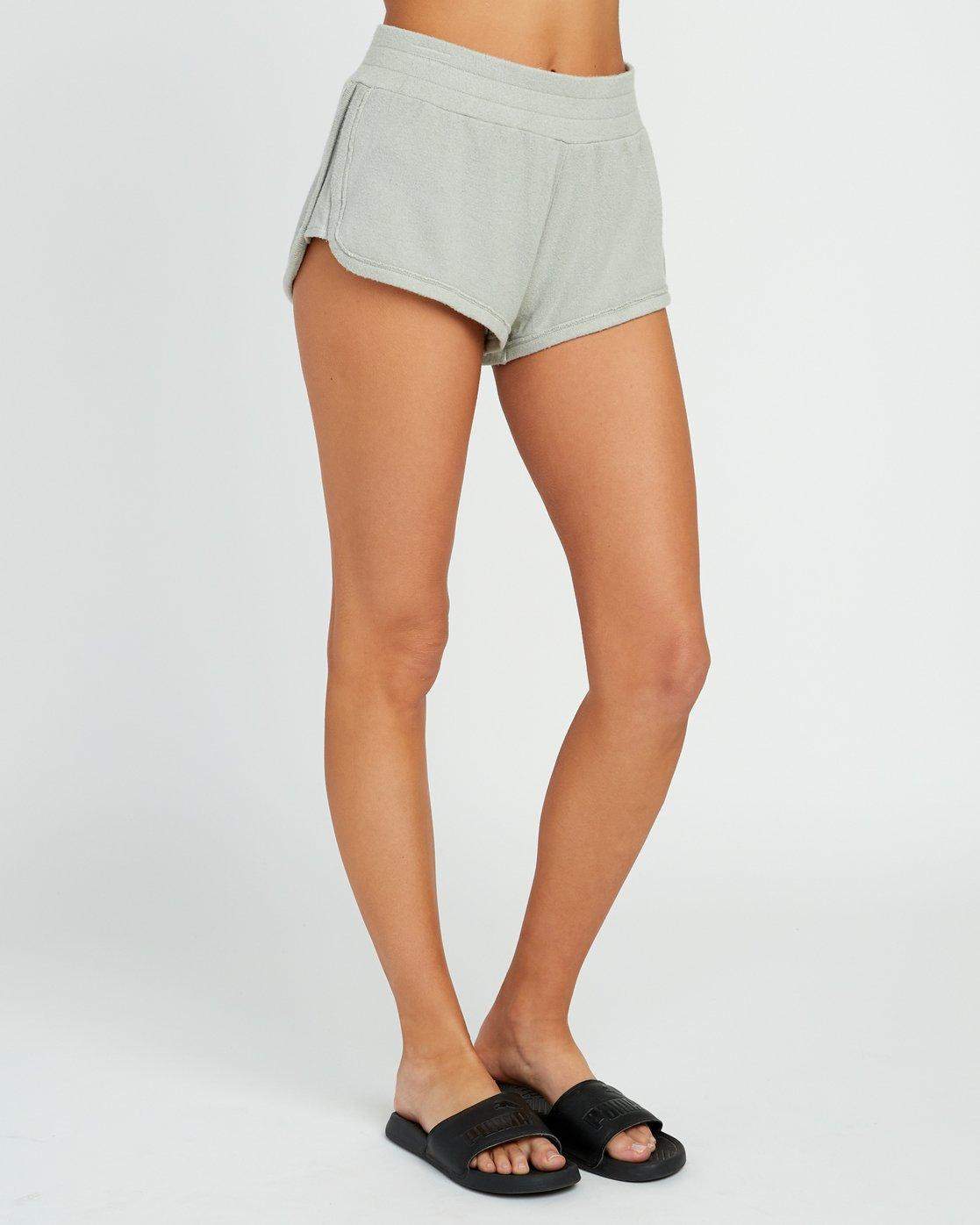 5 Daydream Knit Elastic Short Green WL07URDS RVCA