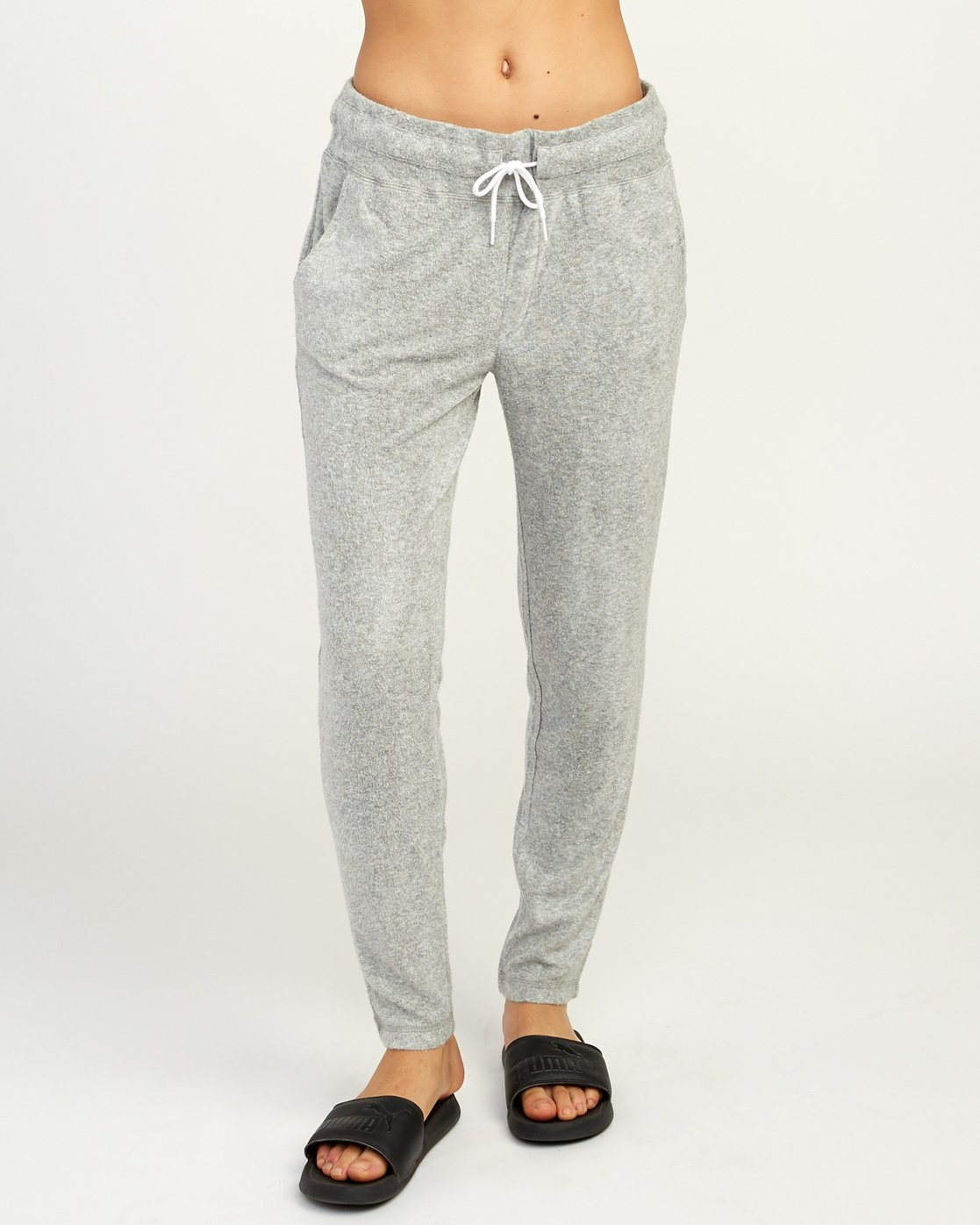1 Whisper Fleece Pant Grey WL11TRWP RVCA