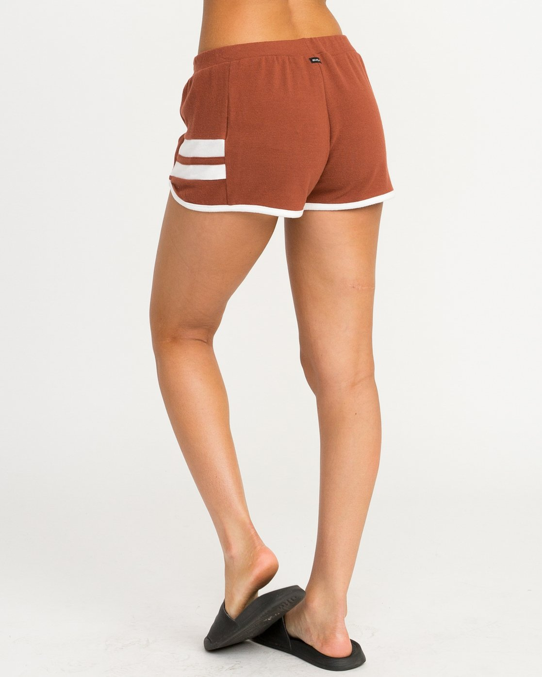 2 Julep Fleece Soft Short Brown WL12QRJU RVCA
