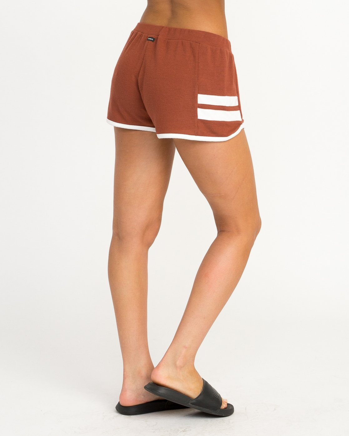 4 Julep Fleece Soft Short Brown WL12QRJU RVCA