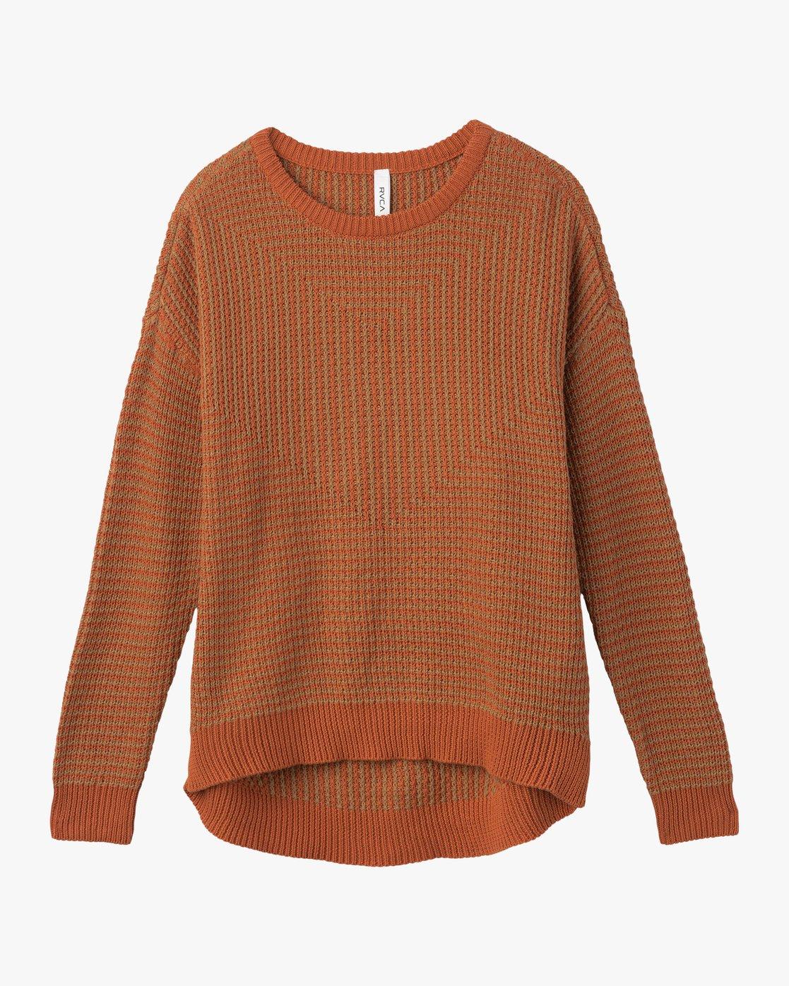 6 Light Up Knit Sweater Pink WLVV02LI RVCA