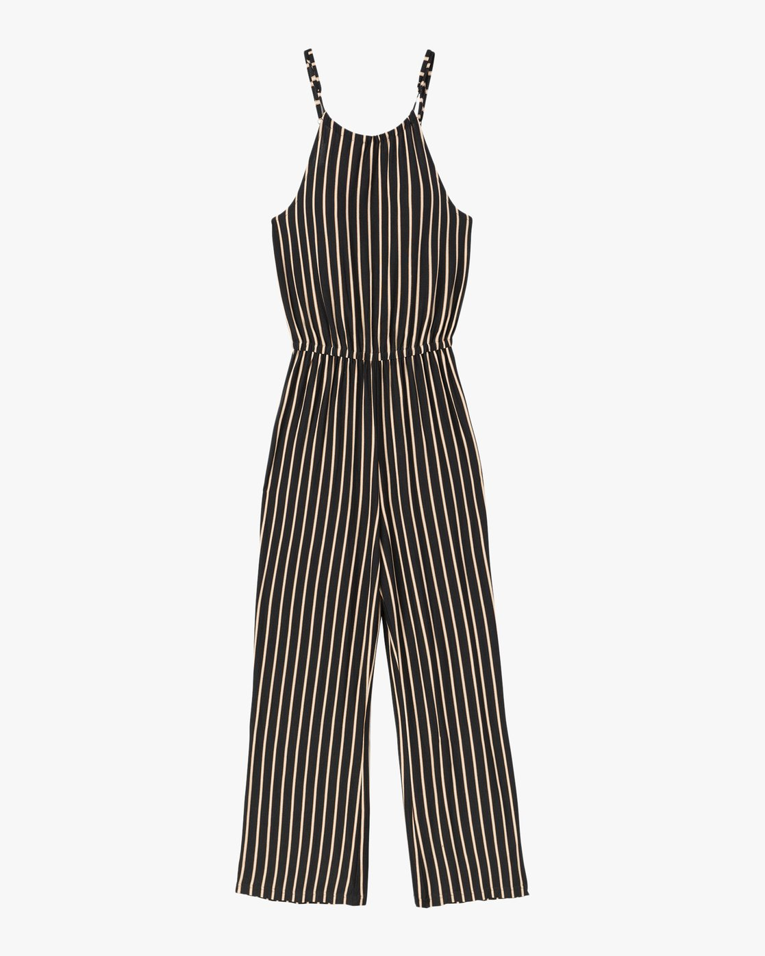4 Hush Striped Jumpsuit Grey WN01SRHU RVCA