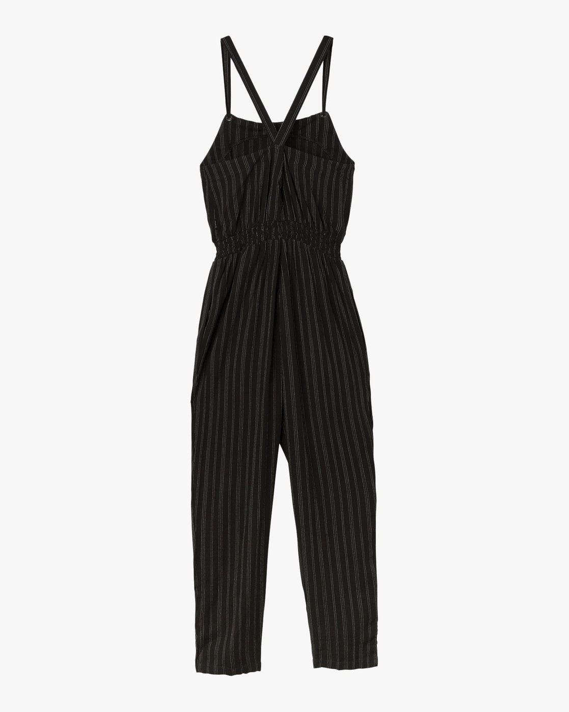6 Split Overall Jumpsuit Black WN03SRSP RVCA