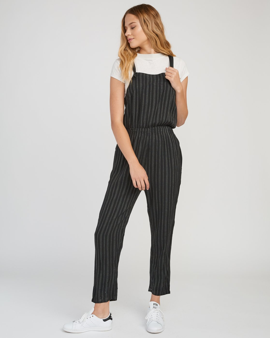 0 Split Overall Jumpsuit Black WN03SRSP RVCA