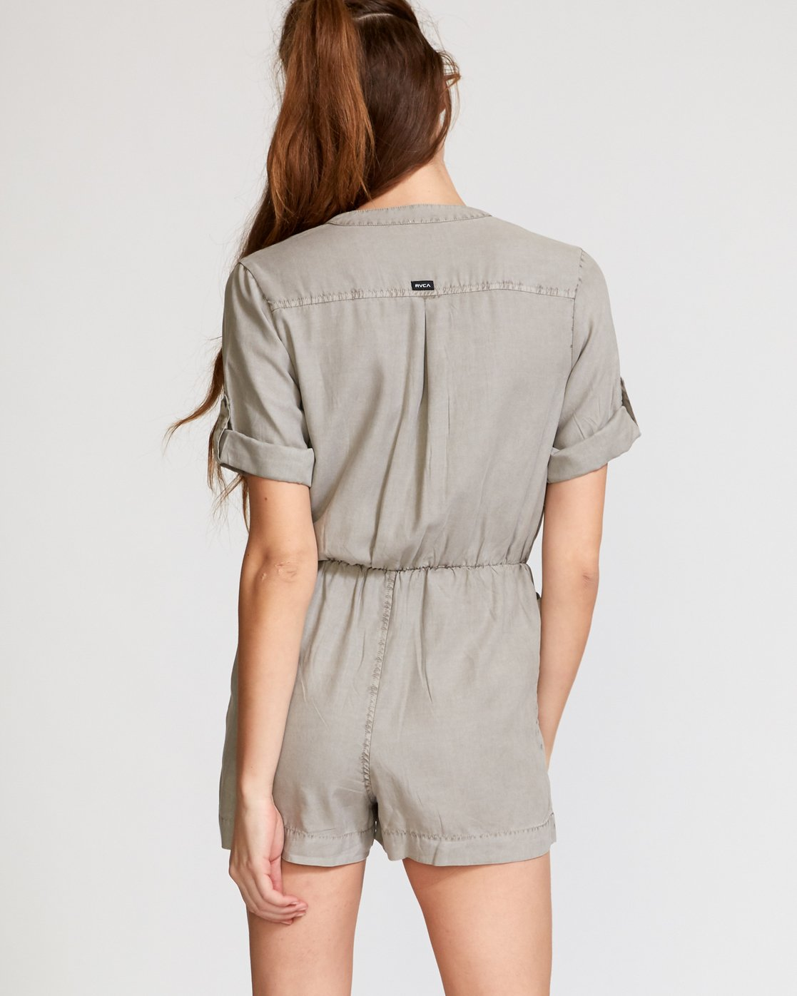 2 Drove Out Romper Grey WN03VRDR RVCA
