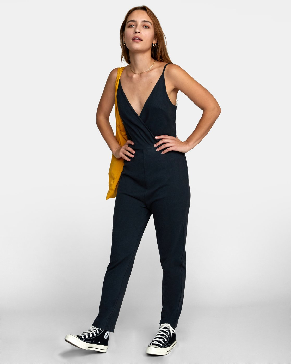 1 CITRA KNIT JUMPSUIT Black WN101RCI RVCA
