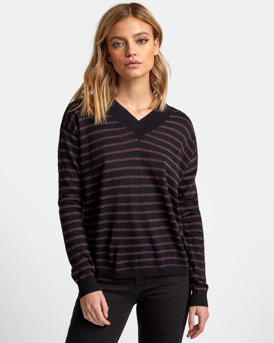 0 Abundant Lightweight Sweater  WV01WRAB RVCA