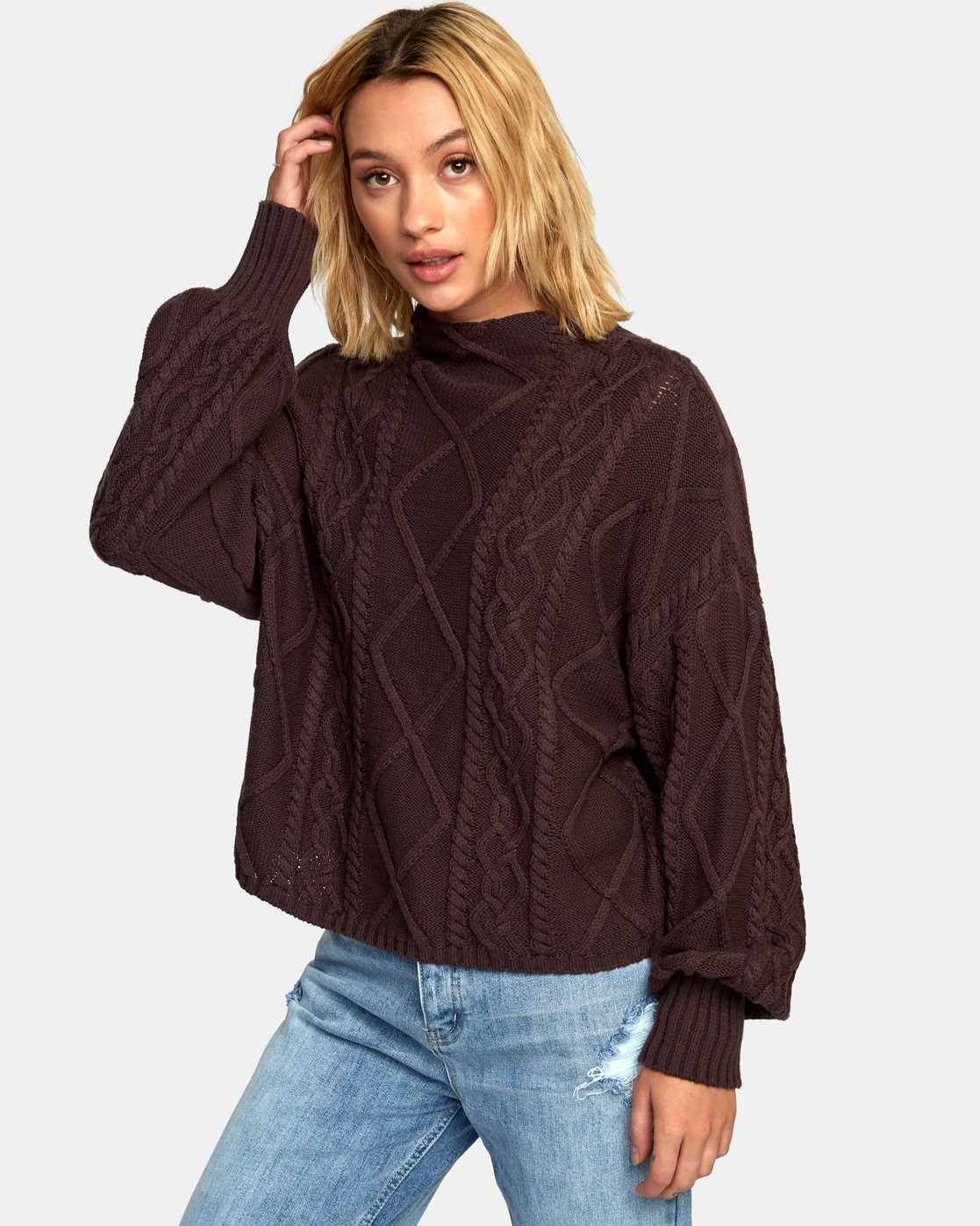 0 Attraction Knit Sweater  WV03WRAT RVCA