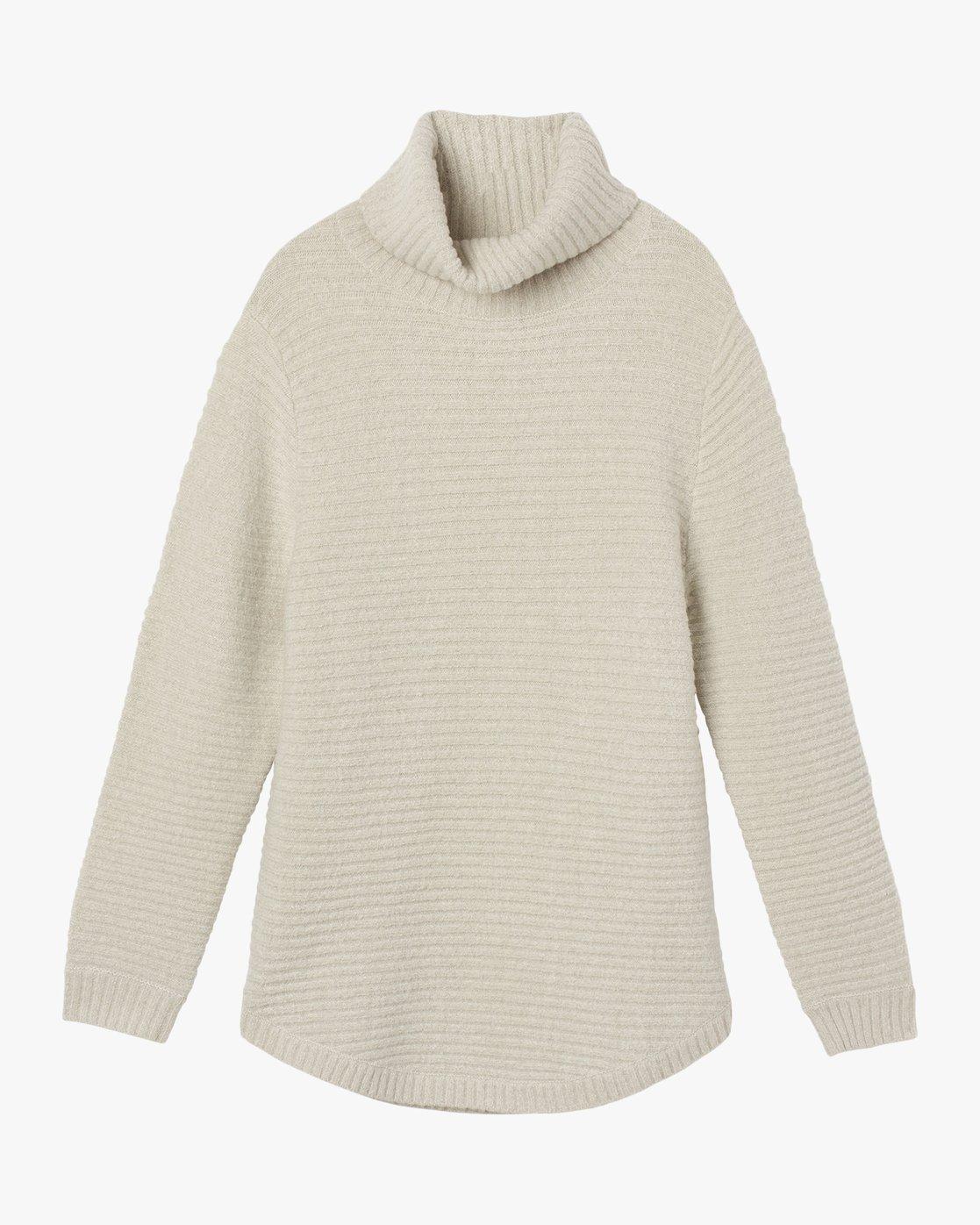 5 Jinx Knit Tunic Sweater Brown WV06SRJI RVCA