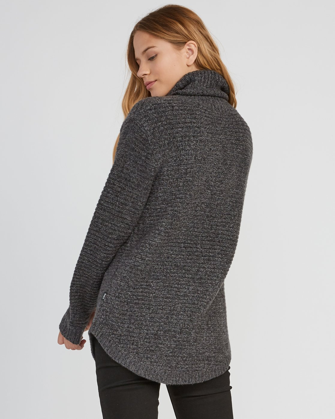 2 Jinx Knit Tunic Sweater Grey WV06SRJI RVCA