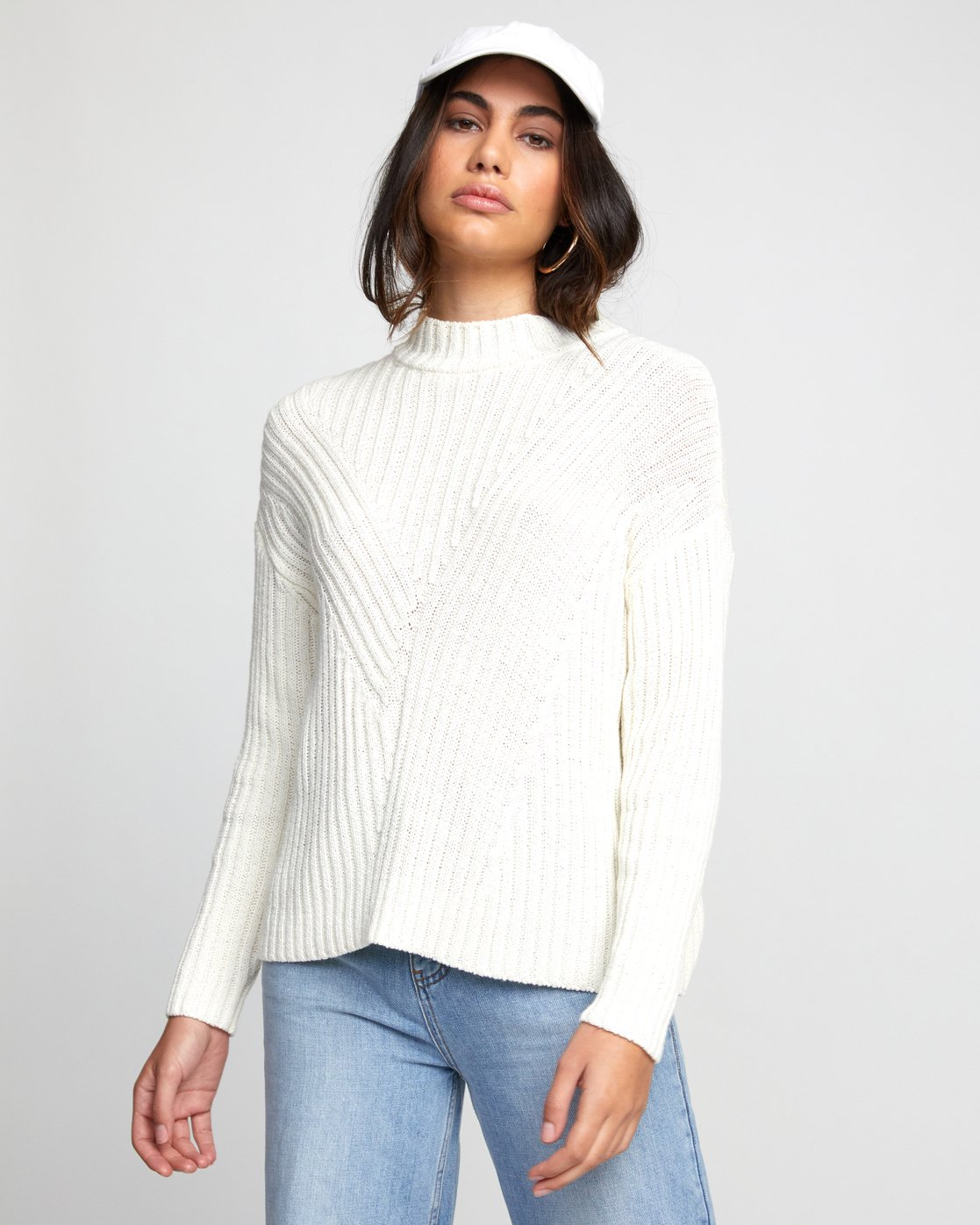 0 ARABELLA SWEATER White WV083RAR RVCA