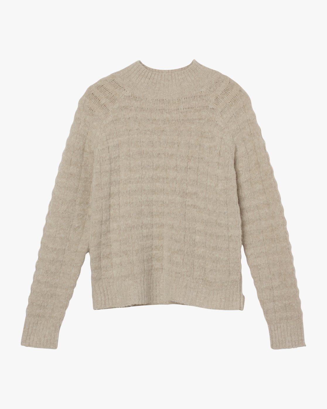 5 Mystars Knit Sweater Brown WV08SRMY RVCA