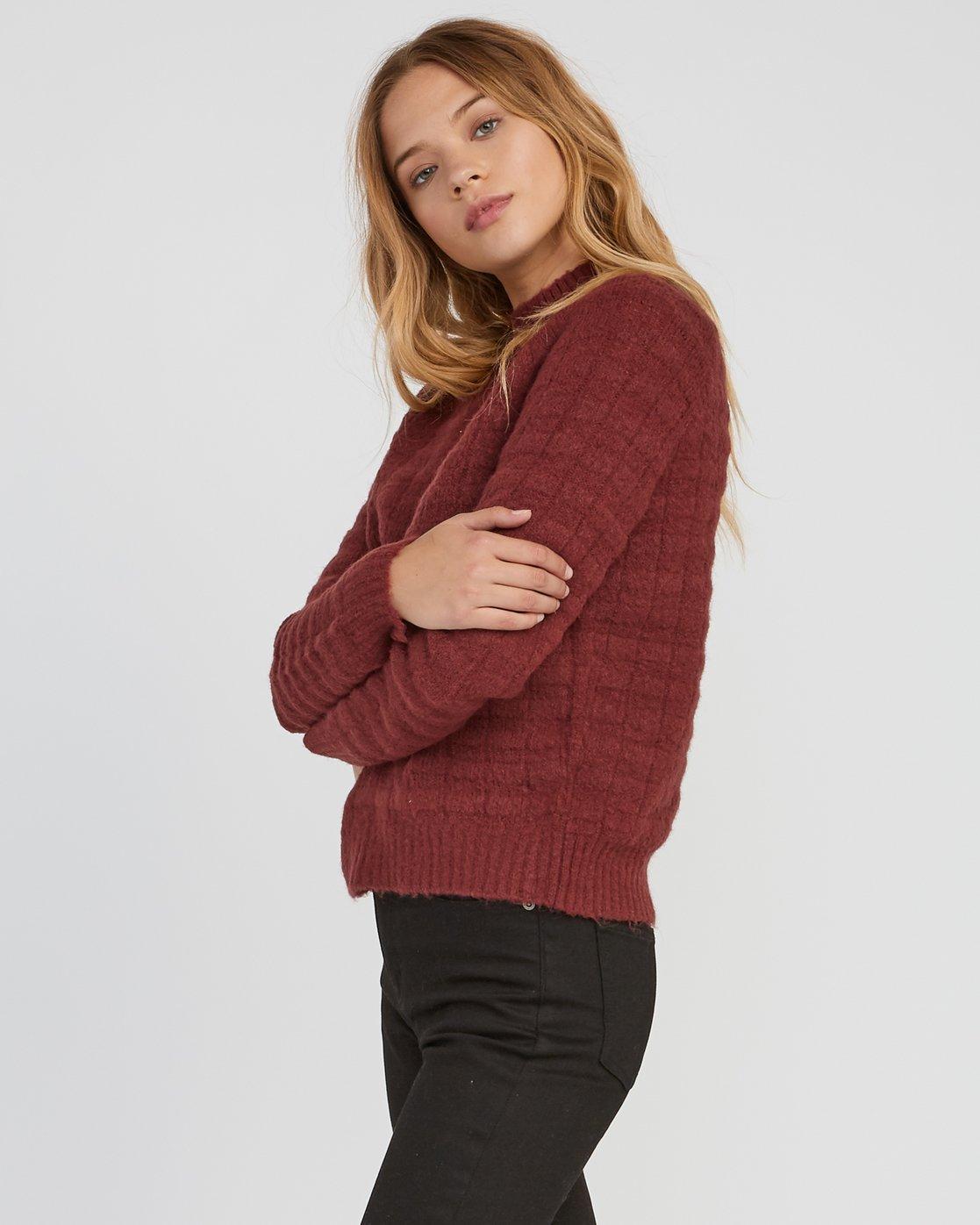 1 Mystars Knit Sweater  WV08SRMY RVCA