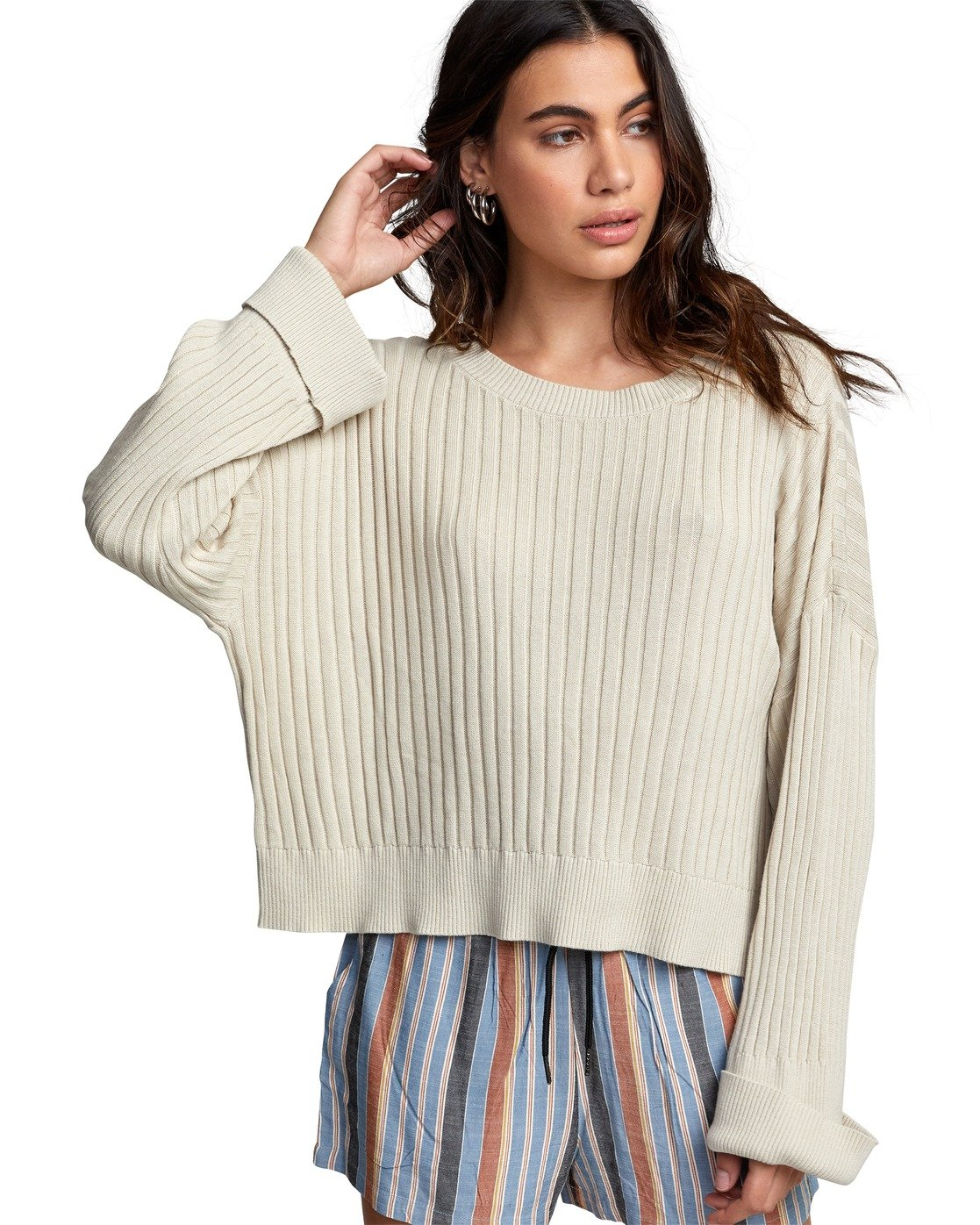 5 SYDNEY SWEATER Brown WV093RSY RVCA