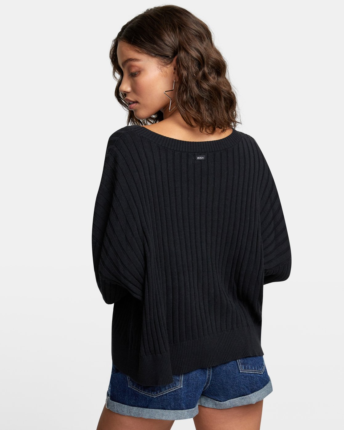 4 SYDNEY SWEATER Black WV093RSY RVCA