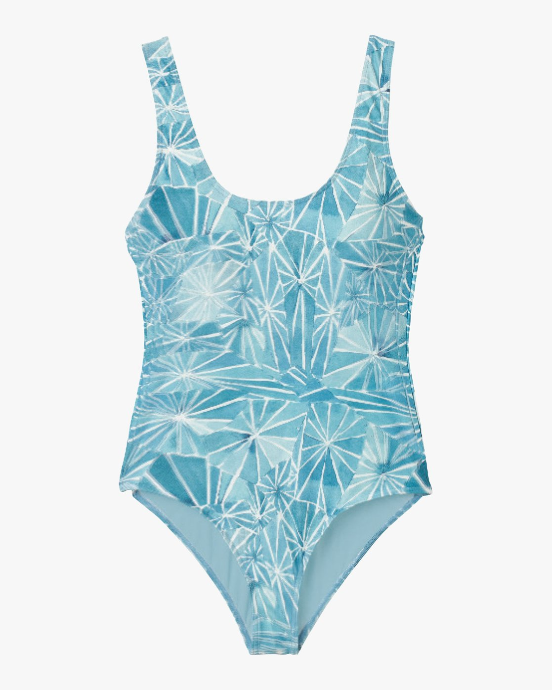 5 Michelle Blade Painted One Piece Swimsuit Blue X120QRPO RVCA