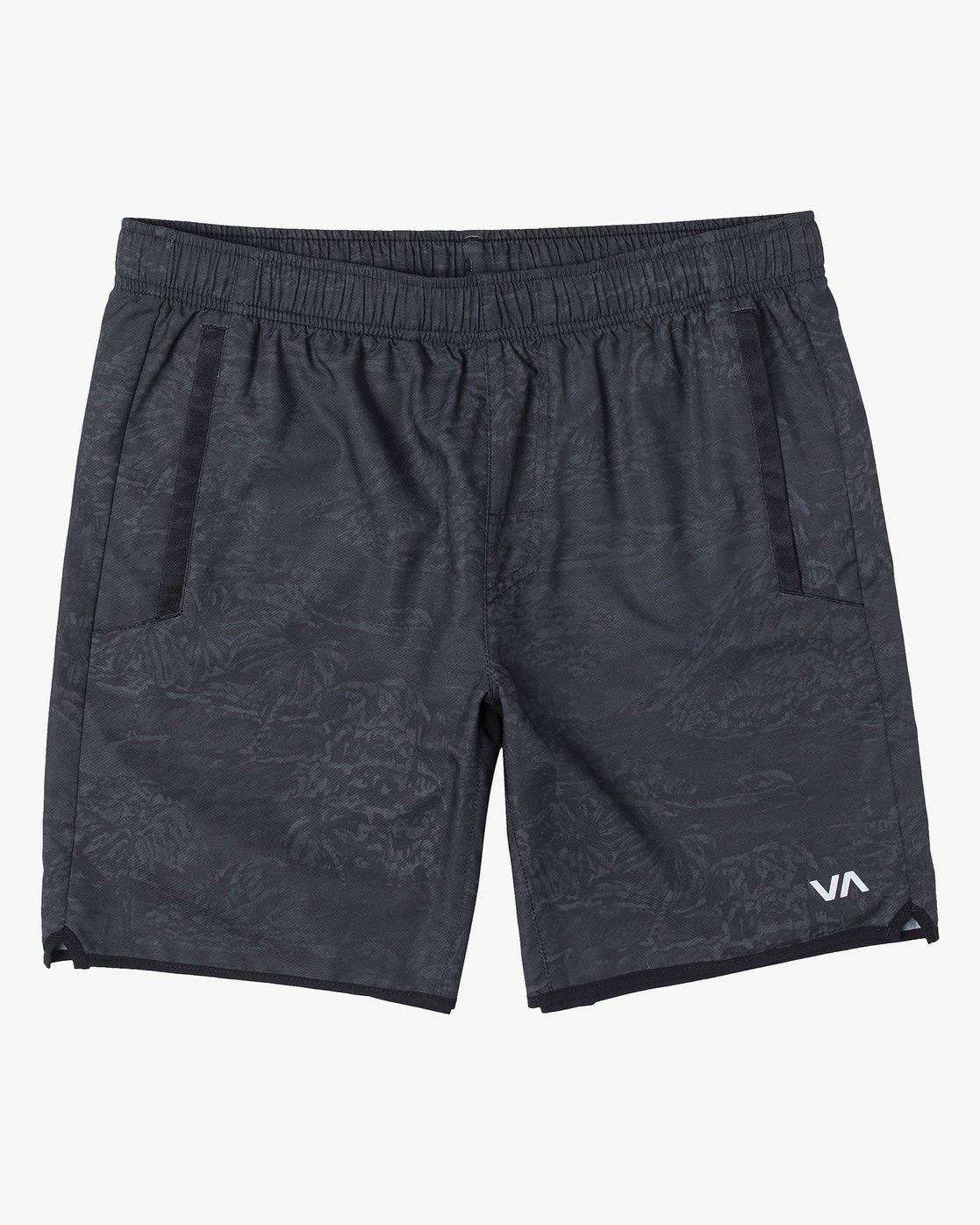 0 VA Sport Yogger - Recycled Performance Training Shorts for Men Green X4WKMARVS1 RVCA