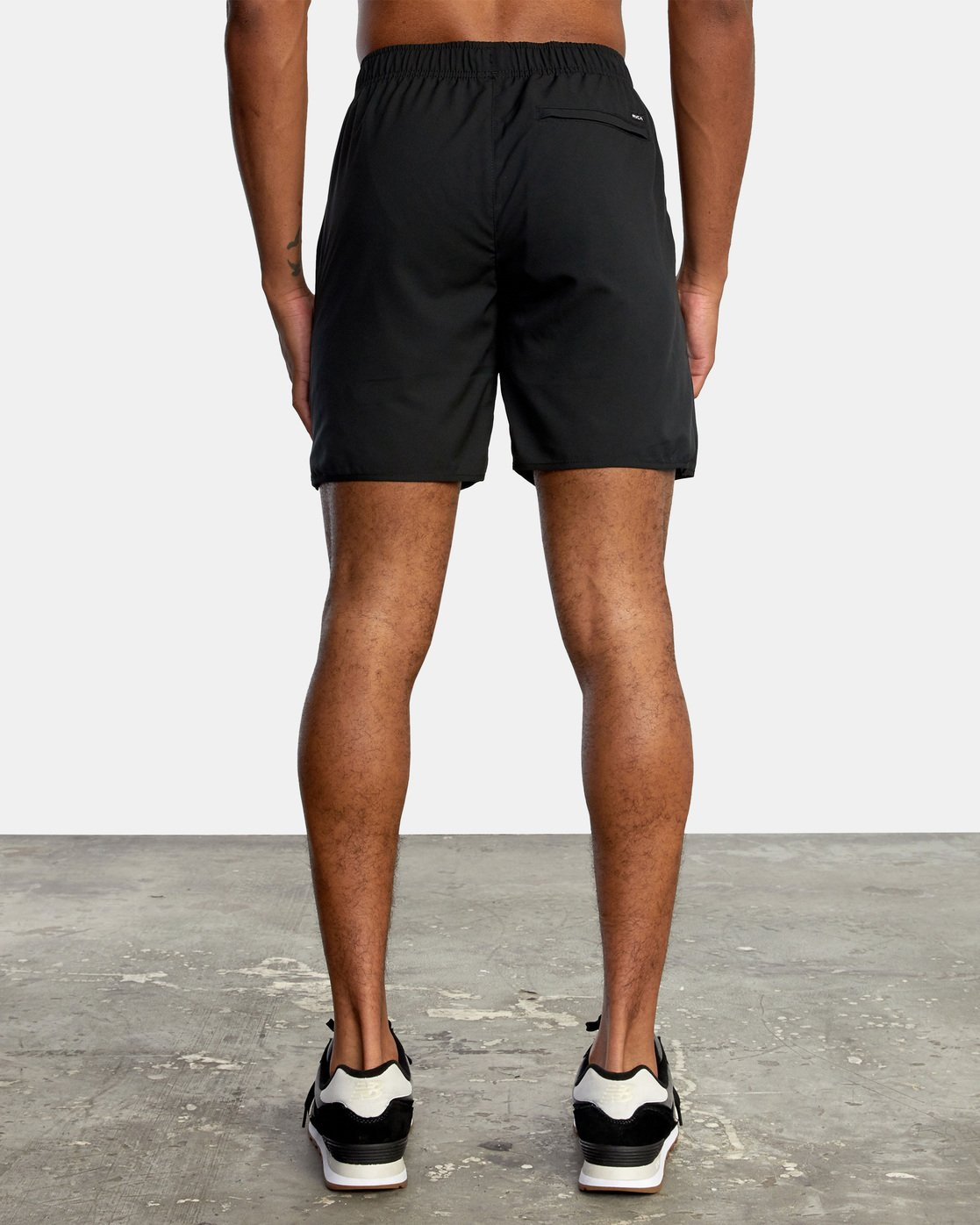 1 VA Sport Yogger - Recycled Performance Training Shorts for Men Black X4WKMARVS1 RVCA
