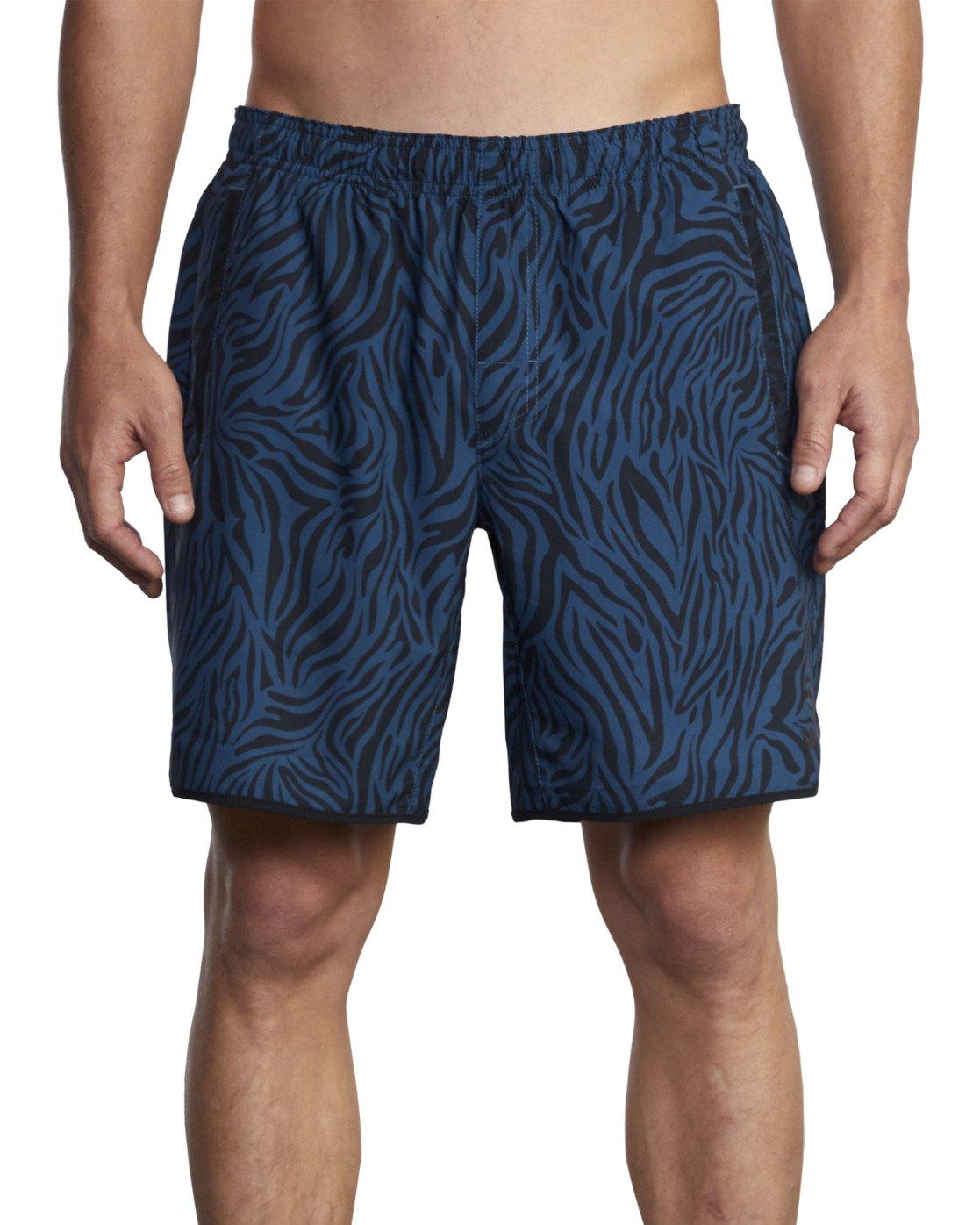 0 VA Sport Yogger Stretch - Recycled Performance Training Shorts for Men Blue X4WKMBRVS1 RVCA