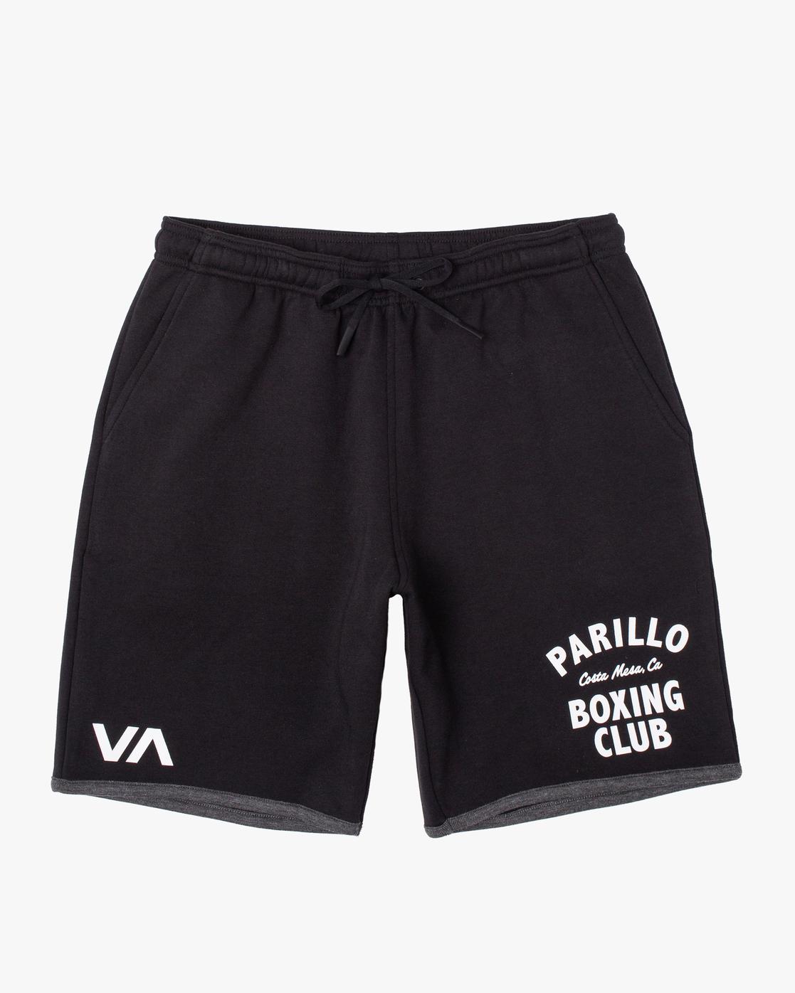 0 VA Sport - Performance Training Shorts for Men Black X4WKMIRVS1 RVCA