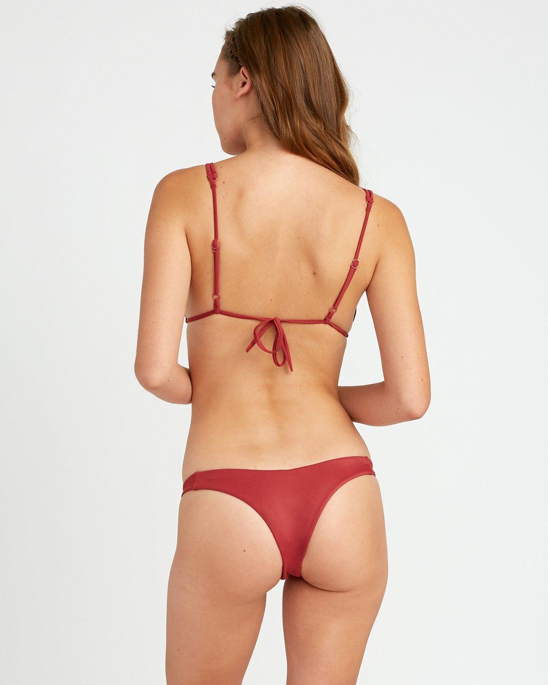 0 Solid Skimpy Bikini Bottom Red XB01TRSS RVCA