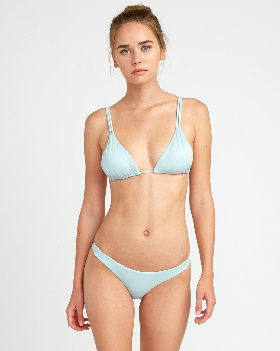 2 Solid Skimpy Bikini Bottom Beige XB01TRSS RVCA
