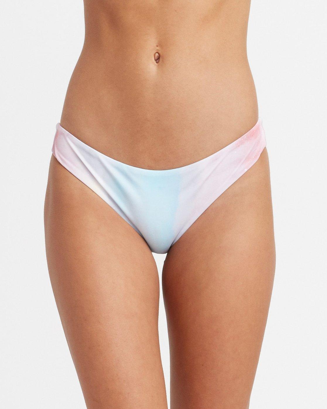 3 Michelle Blade Entrance Cheeky Bikini Bottoms Multicolor XB06TREC RVCA