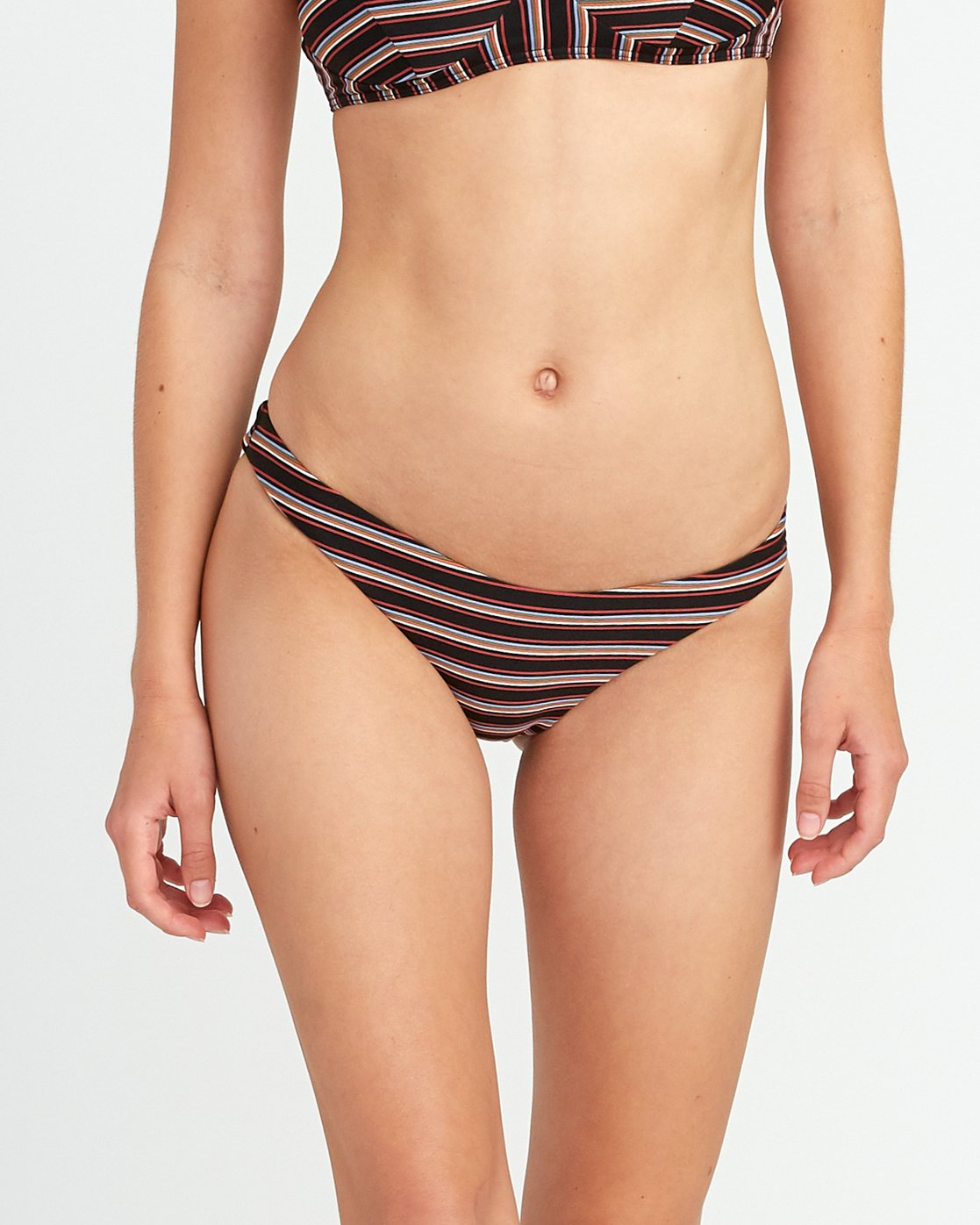 2 Bandit Striped Medium Bikini Bottoms  XB06URBM RVCA